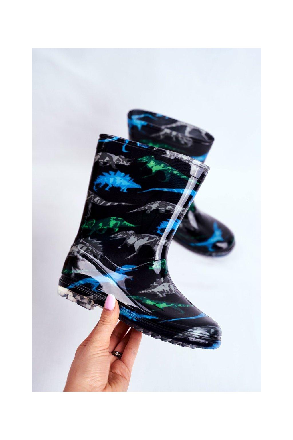Čierna obuv kód topánok HMY-2 DINO