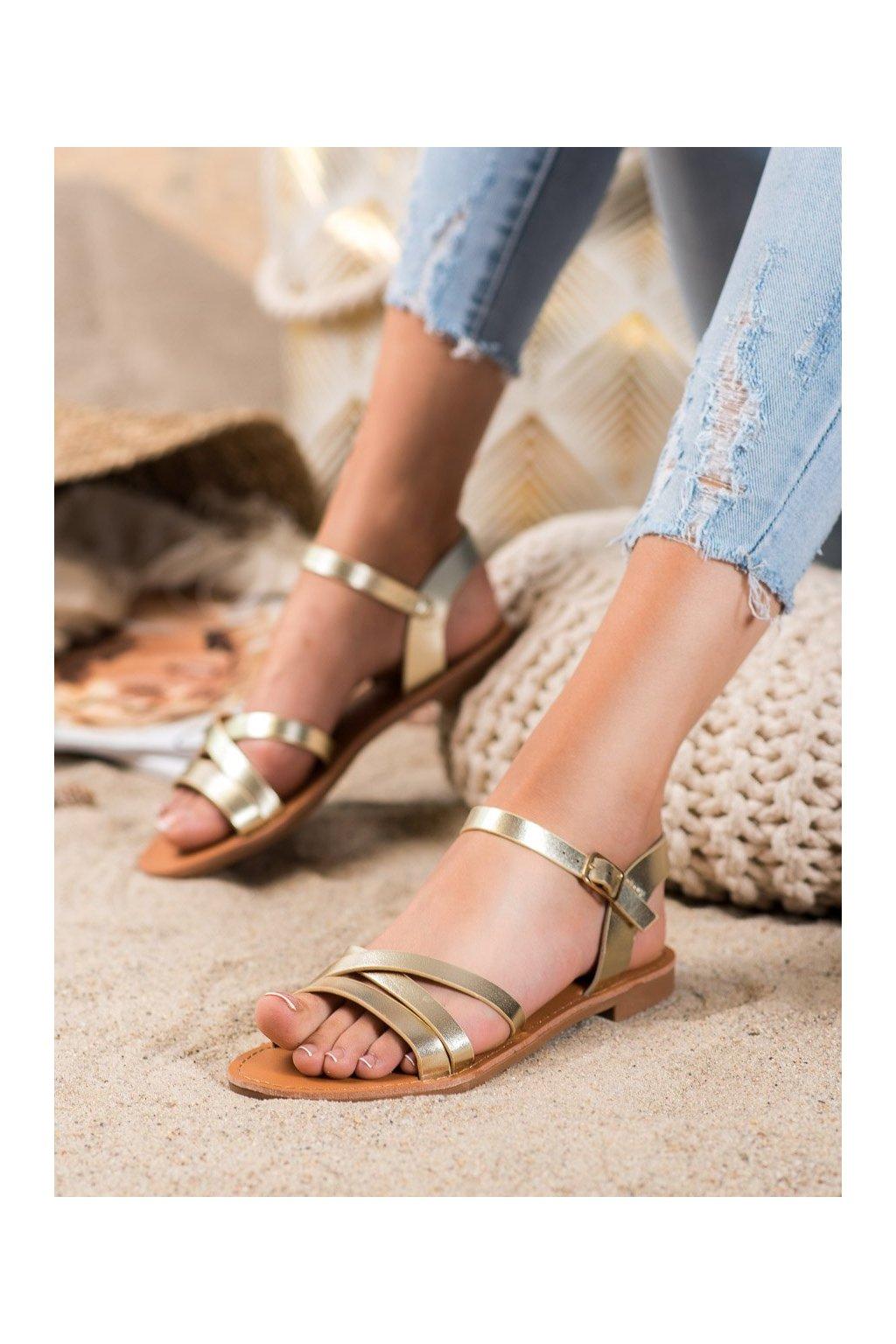 Žlté sandále Shelovet kod HTY-3LT.GO