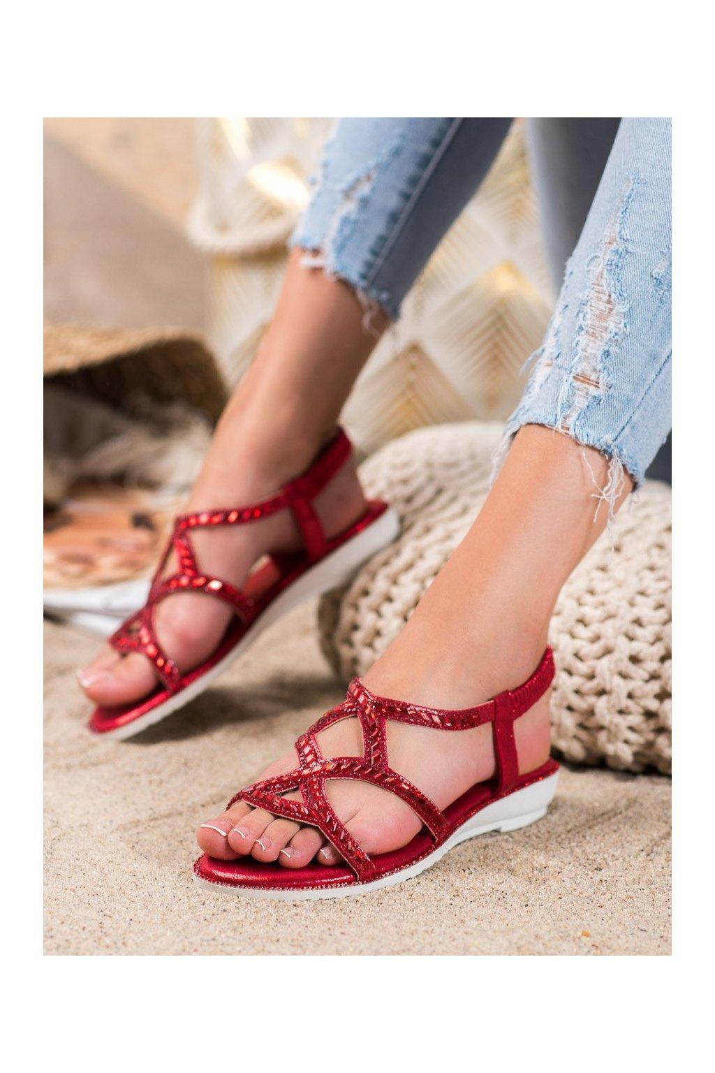 Červené sandále Marquiz kod M-5233R