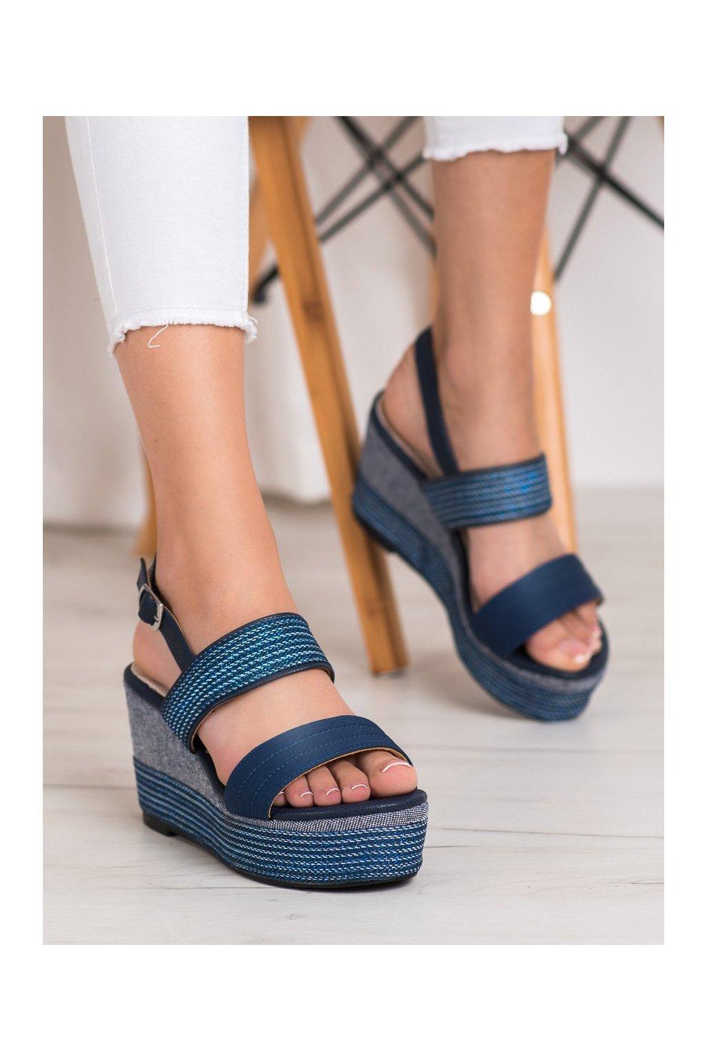Modré sandále Goodin kod GD-NF-04N