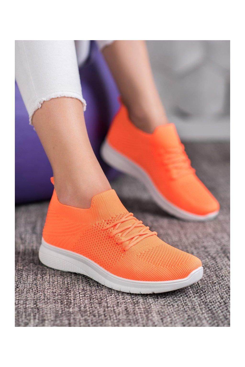 Oranžové tenisky Shelovet kod BB75OR