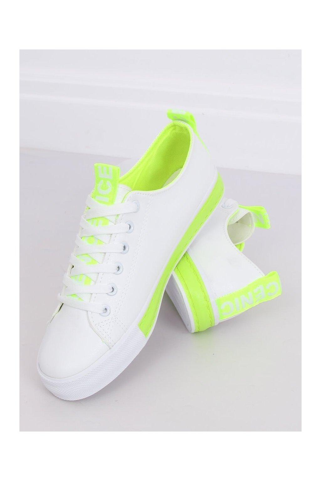 Dámske tenisky biele LA70P