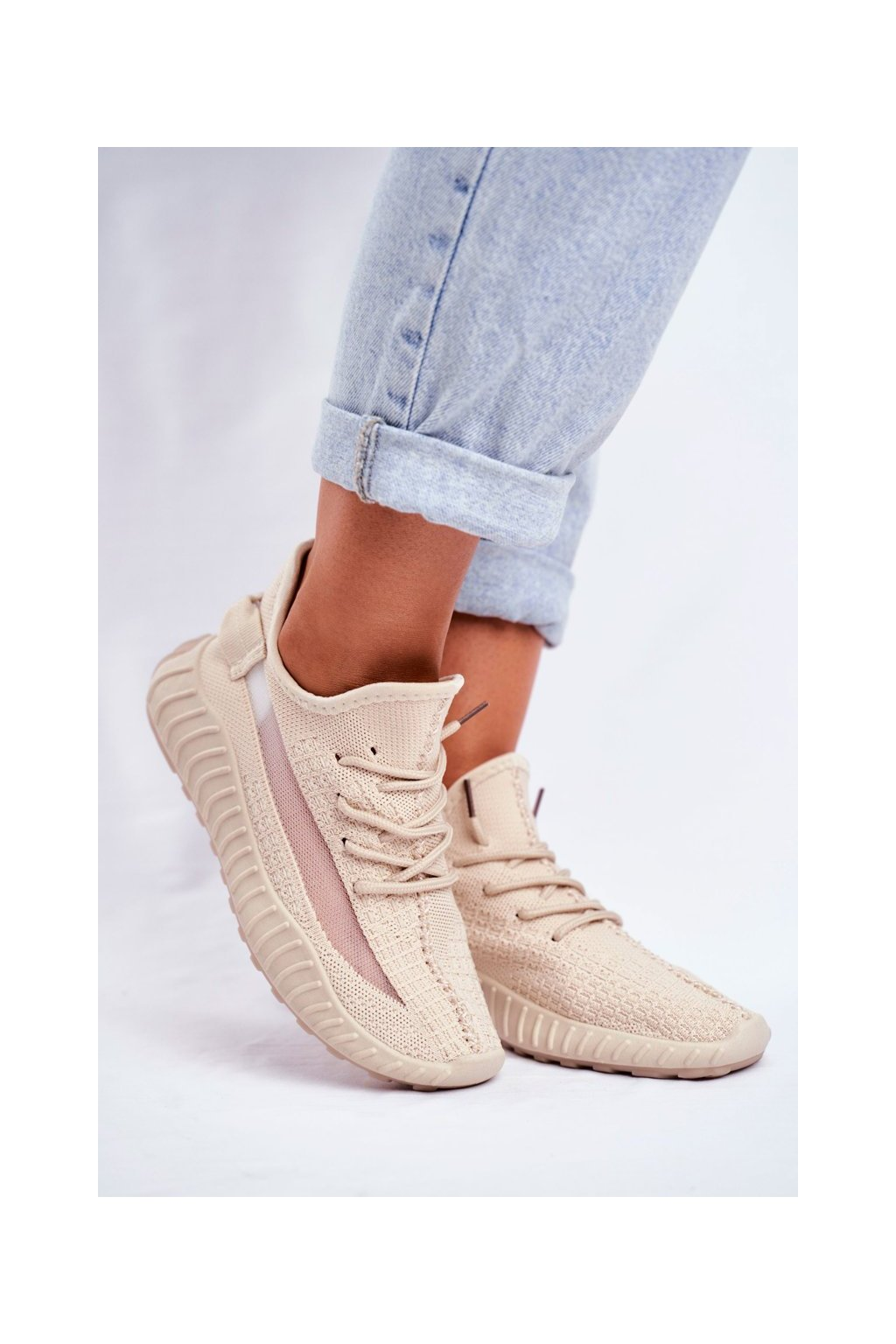 Hnedá obuv kód topánok LA90 BEIGE