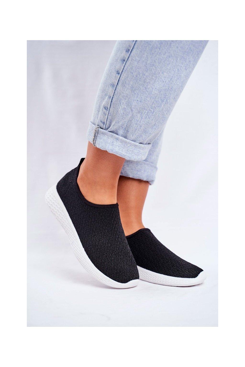 Dámske tenisky farba čierna kód obuvi NB267 BLK