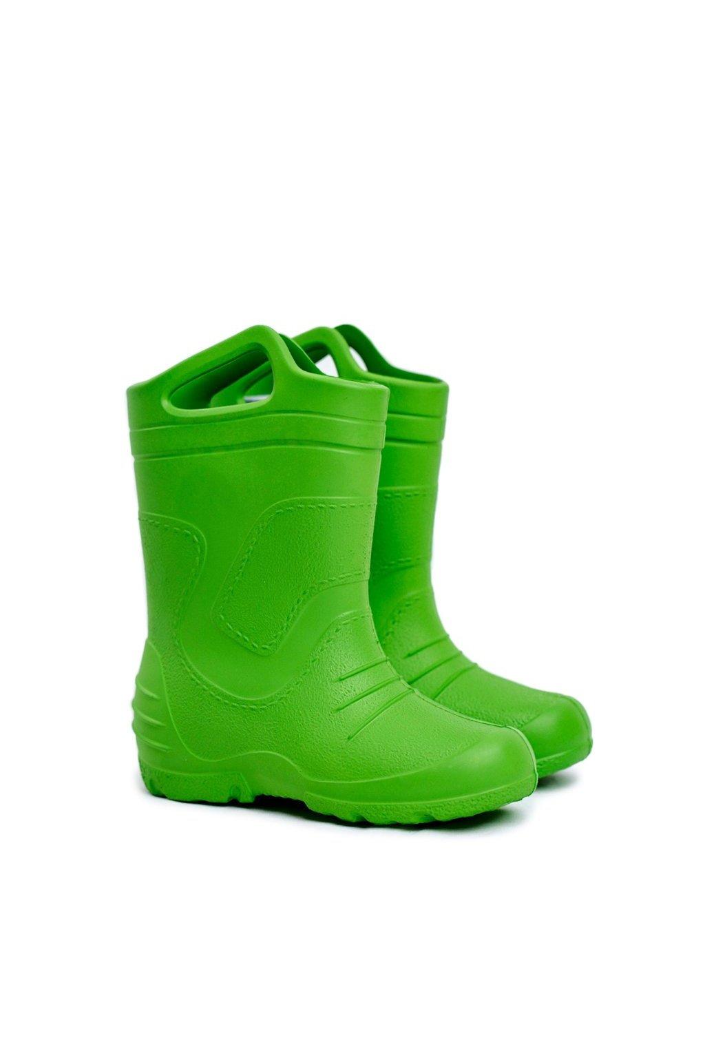 Zelená obuv kód topánok 51051 GREEN