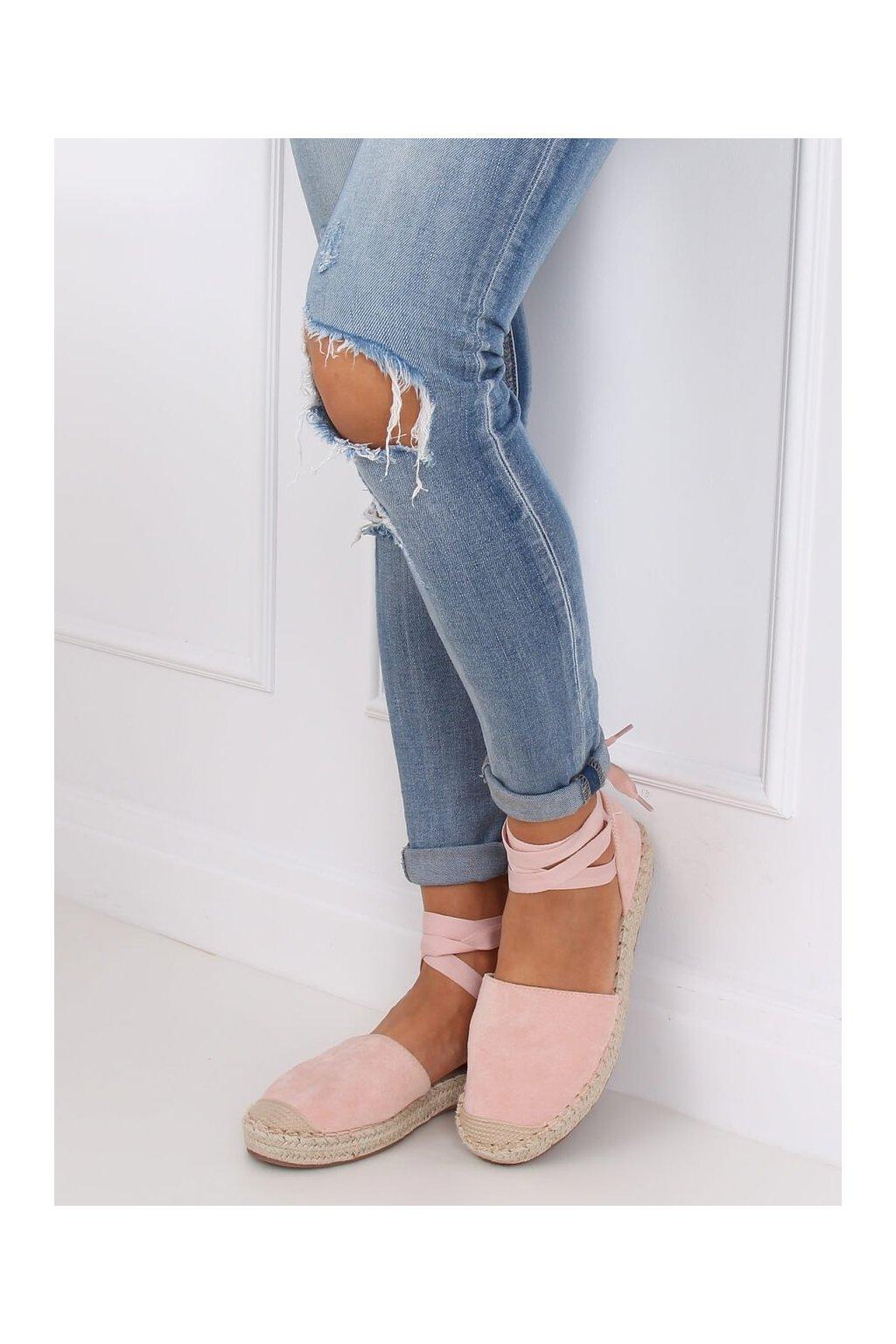 Dámske sandále ružové NJSK LL-230P