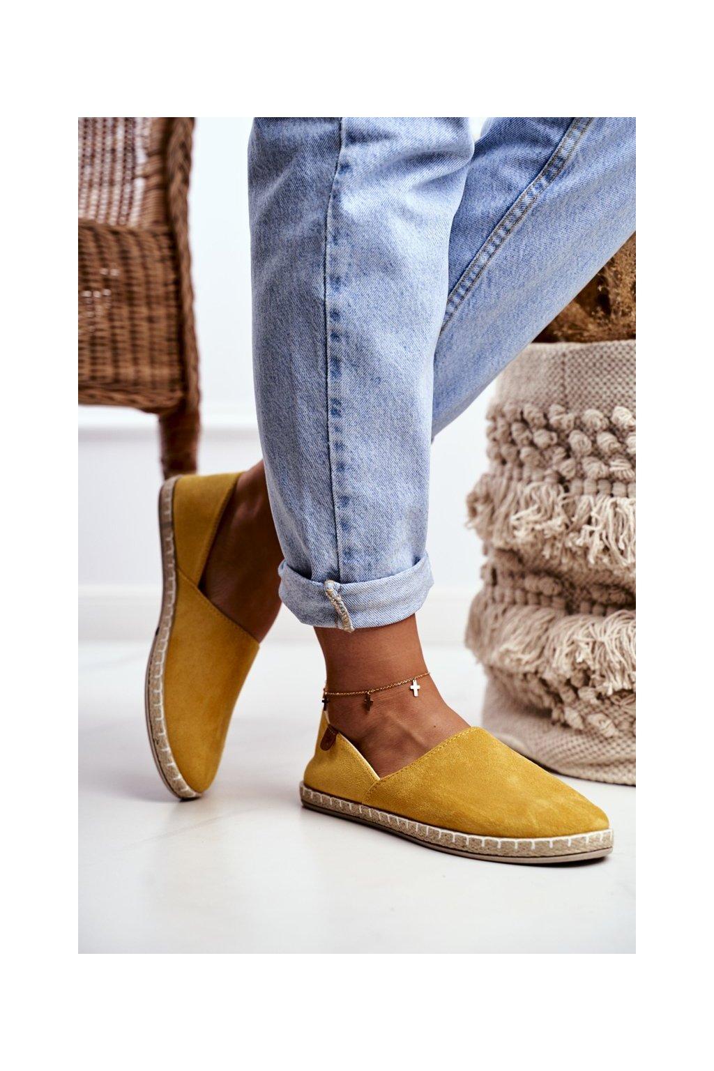 Dámske tenisky farba žltá kód obuvi 20TX02-2416 YELLOW