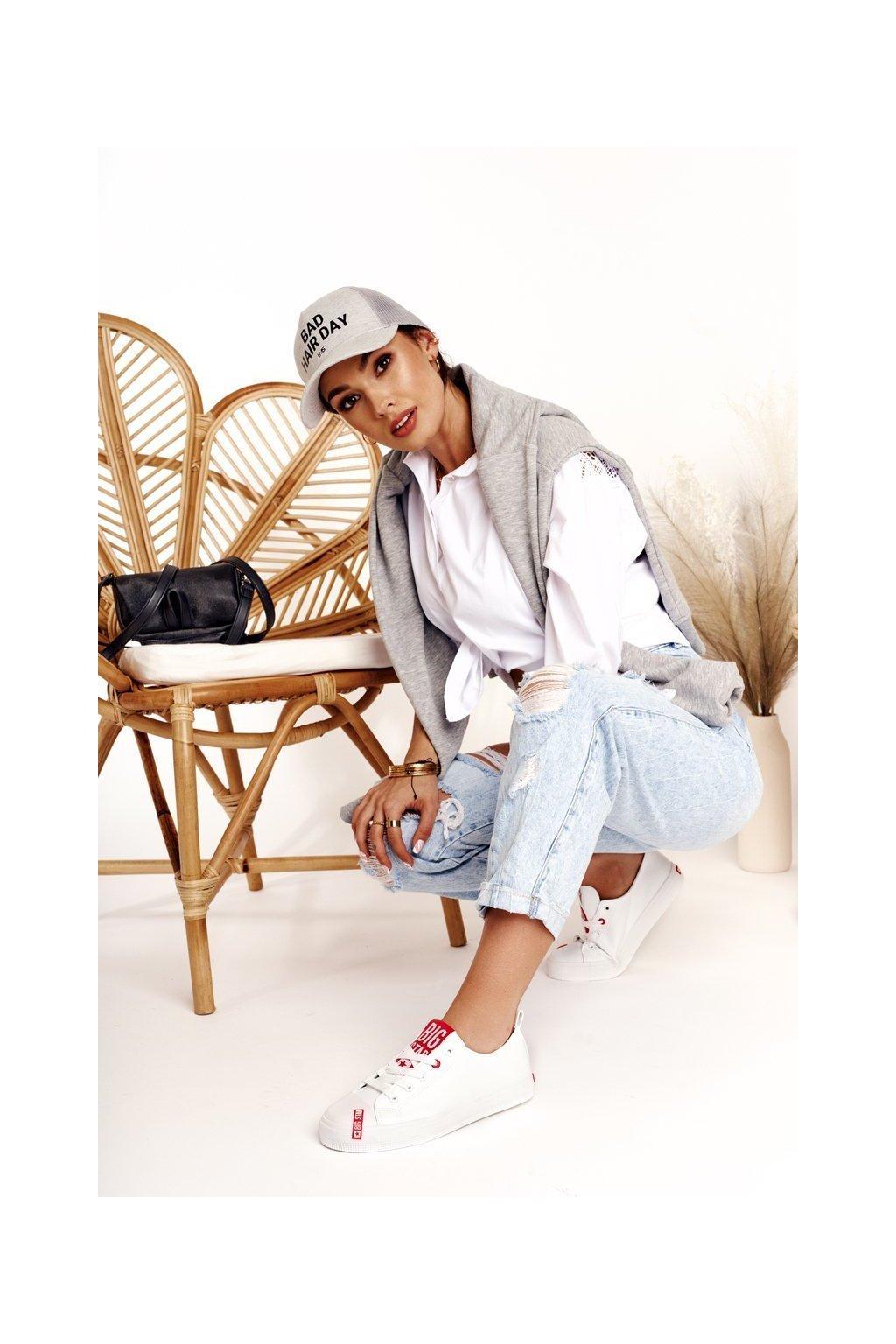 Dámske tenisky farba biela kód obuvi EE274302 WHITE