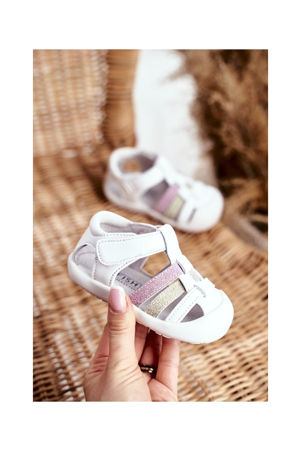 Biela obuv kód topánok NJSK IC42 WHITE