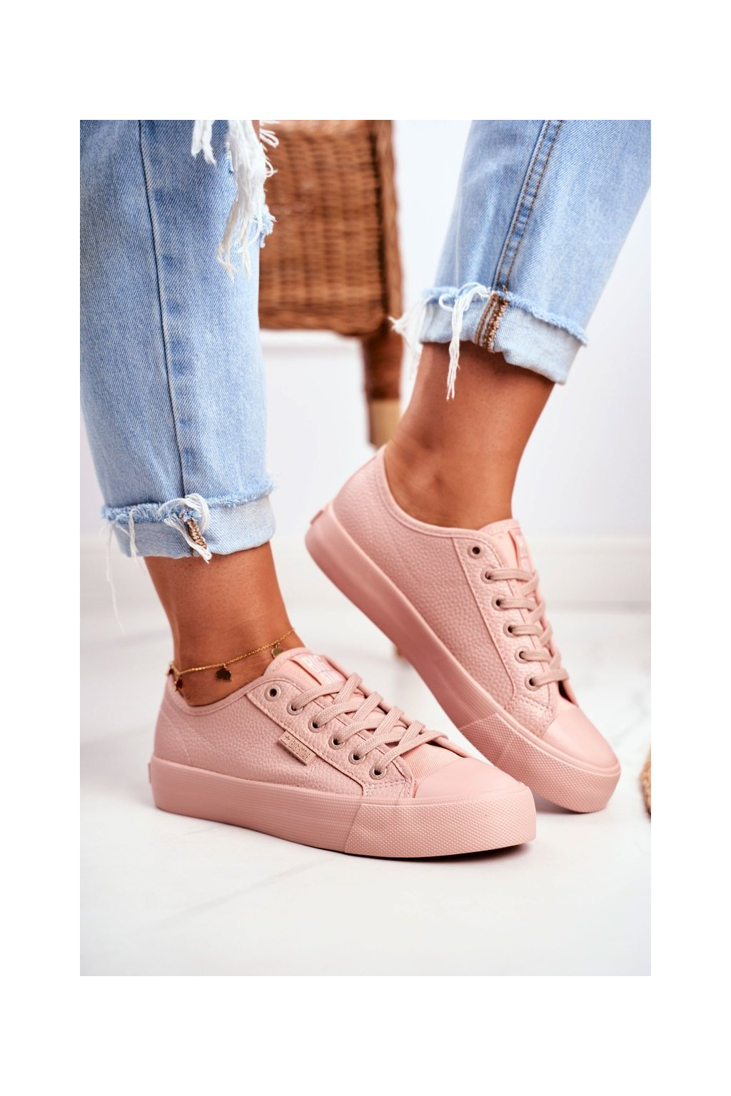 Dámske tenisky farba ružová kód obuvi GG274103 PINK