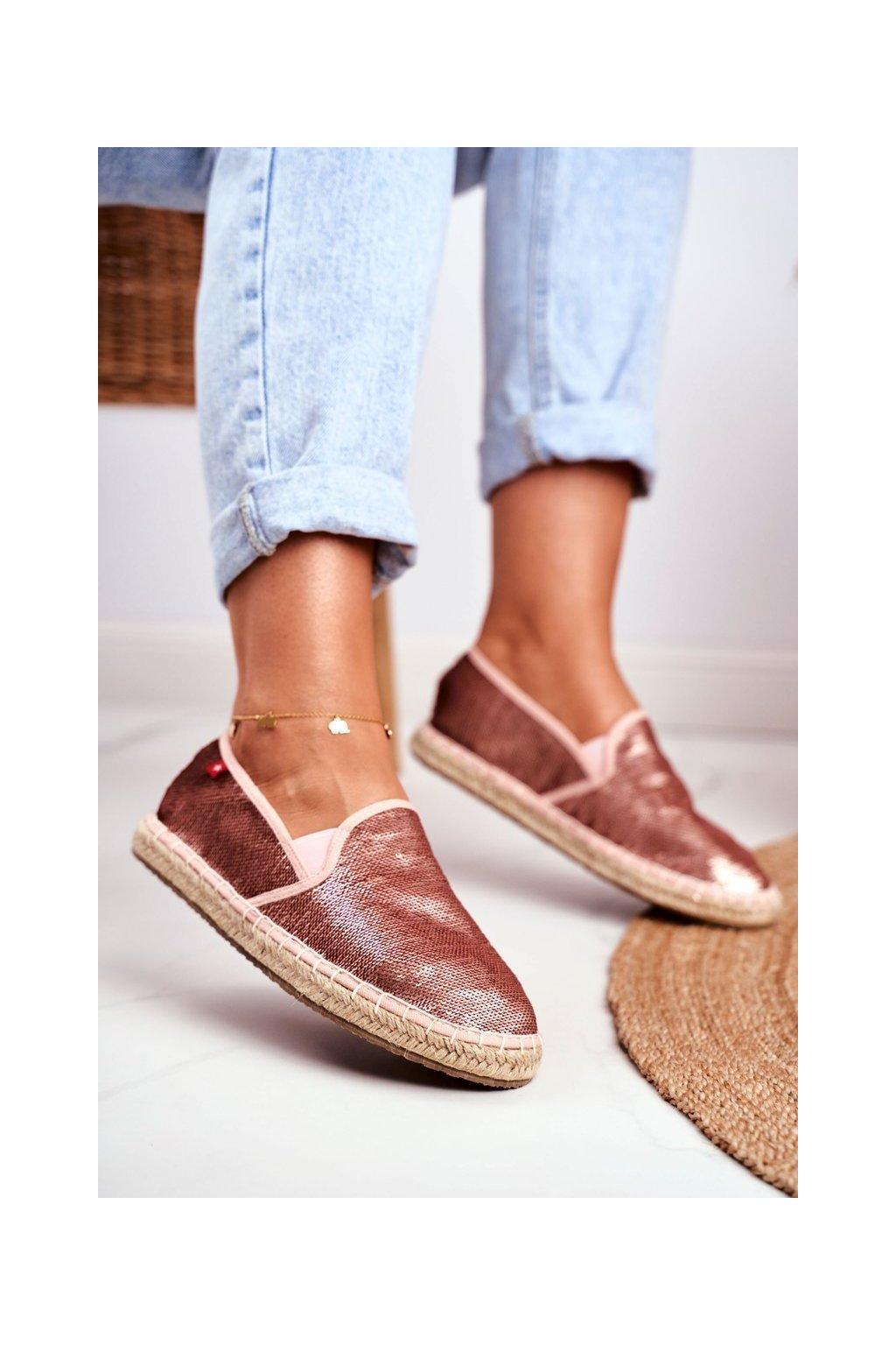 Dámske tenisky farba ružová kód obuvi DD274A163 PINK