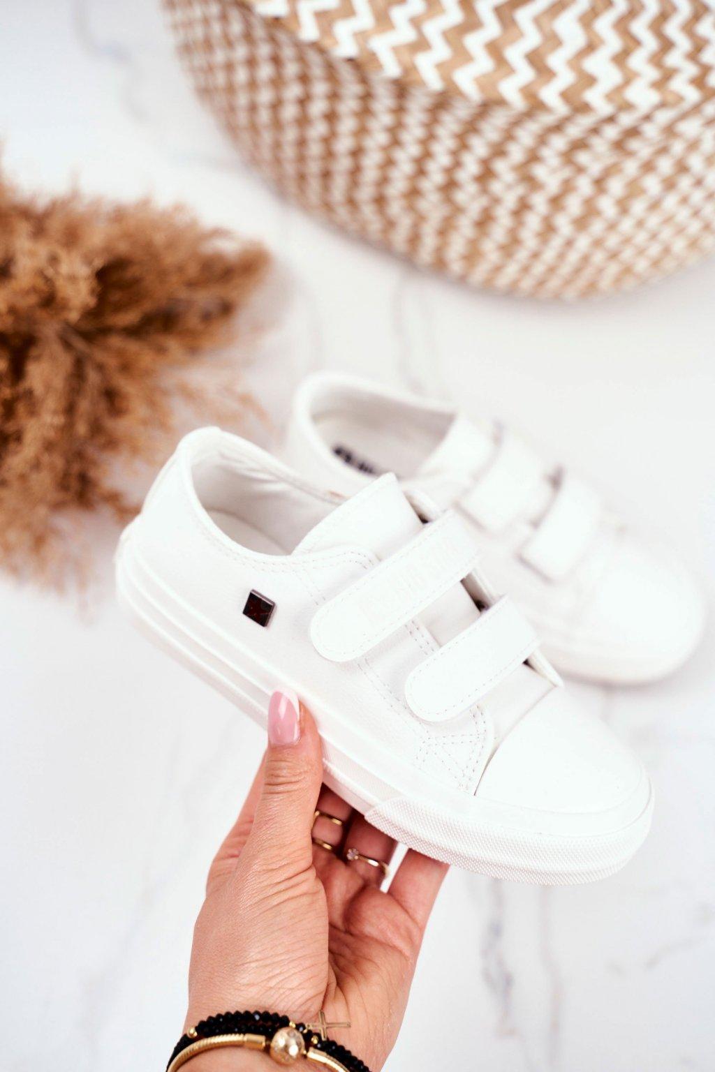 Detské tenisky farba biela kód obuvi GG374010 WHITE