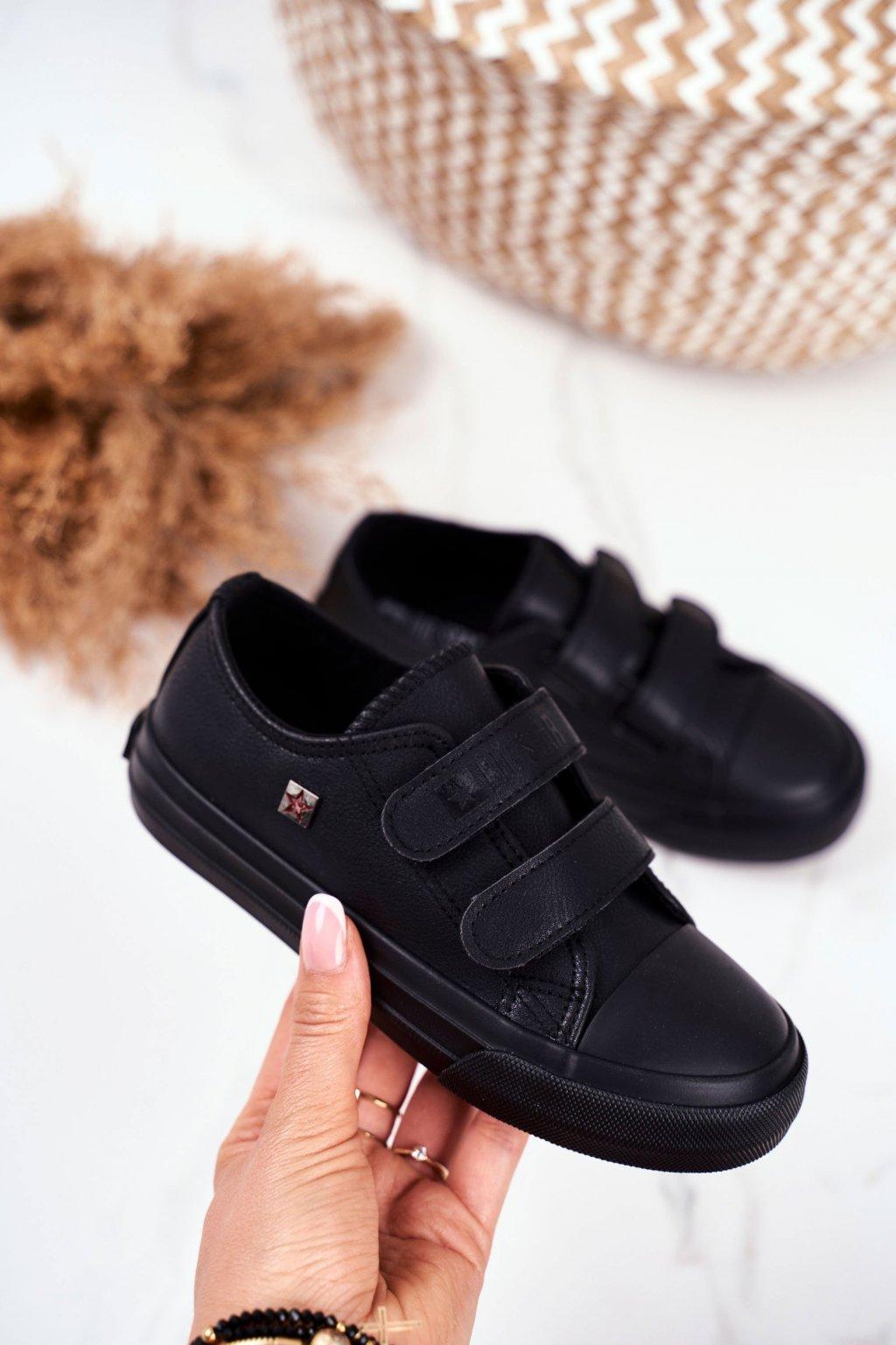 Detské tenisky farba čierna kód obuvi GG374009 BLK