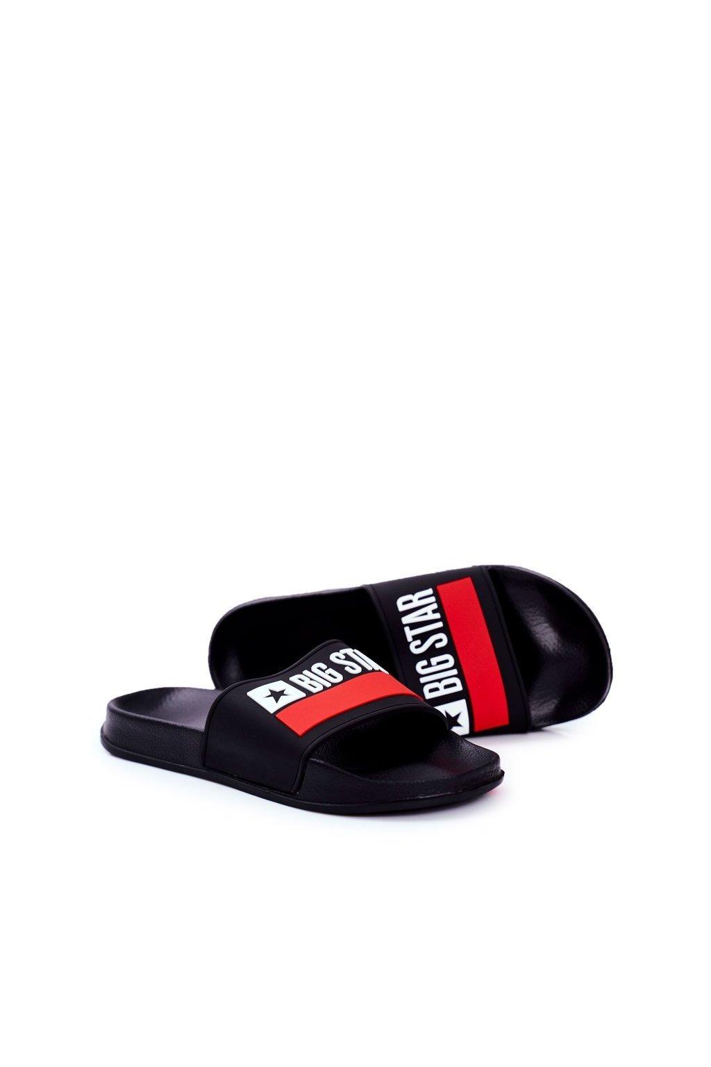 Pánske šľapky farba čierna kód obuvi GG174936 BLK