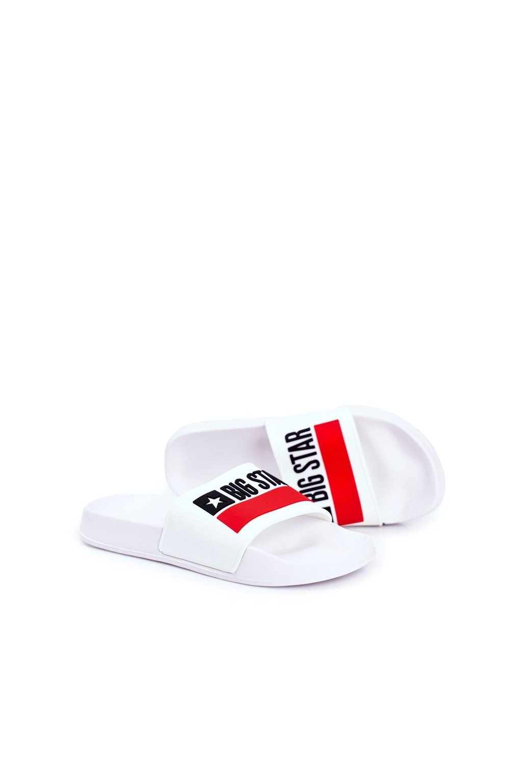 Pánske šľapky farba biela kód obuvi GG174938 WHITE