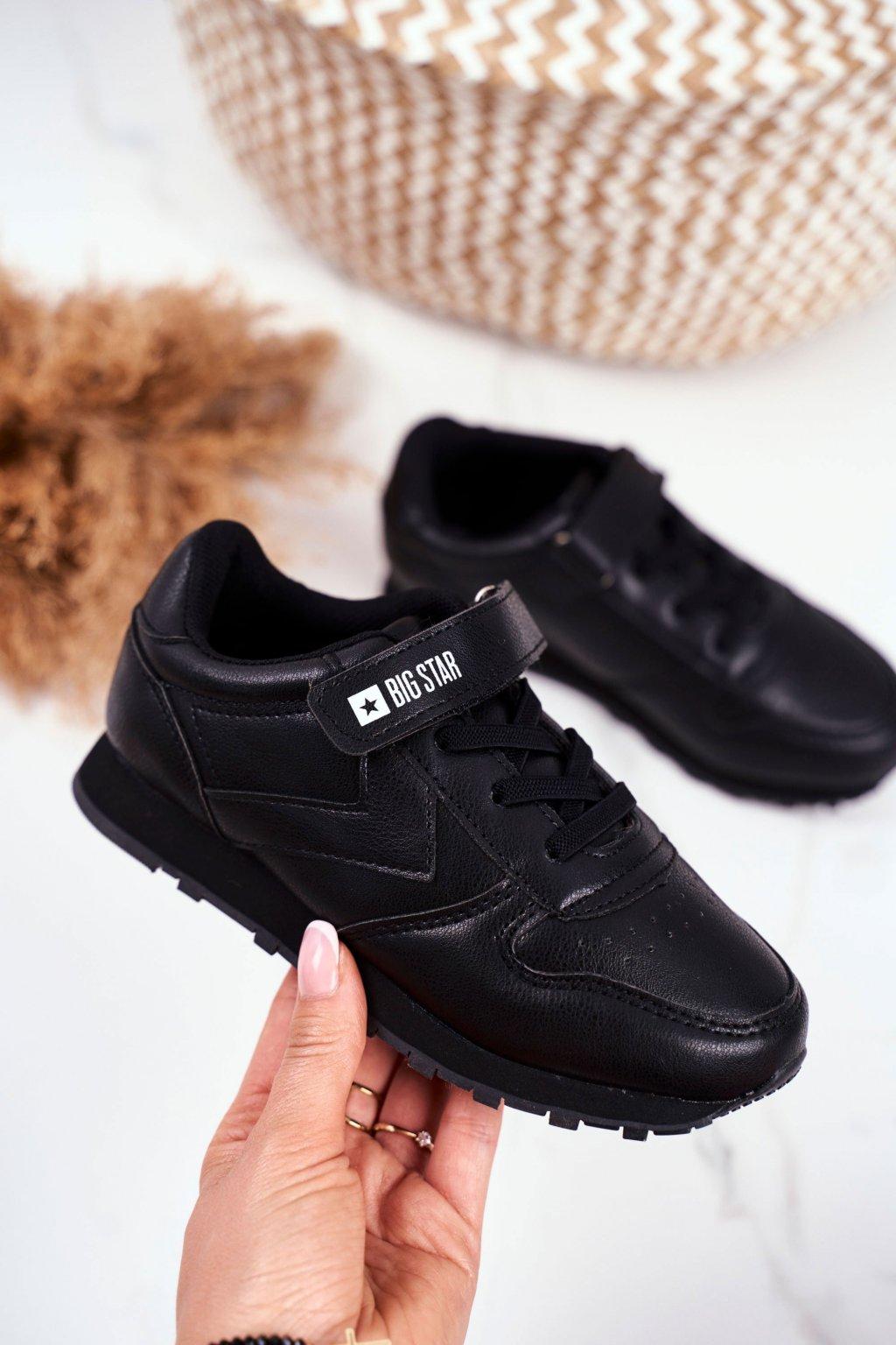 Detské tenisky farba čierna kód obuvi GG374059 BLK