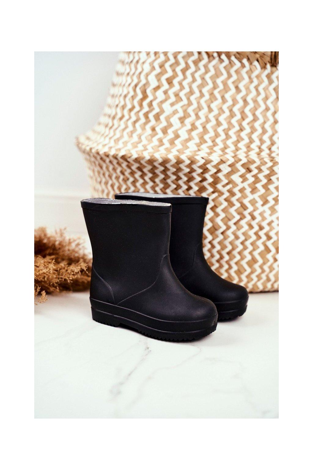Čierna obuv kód topánok HQ-105 BLK