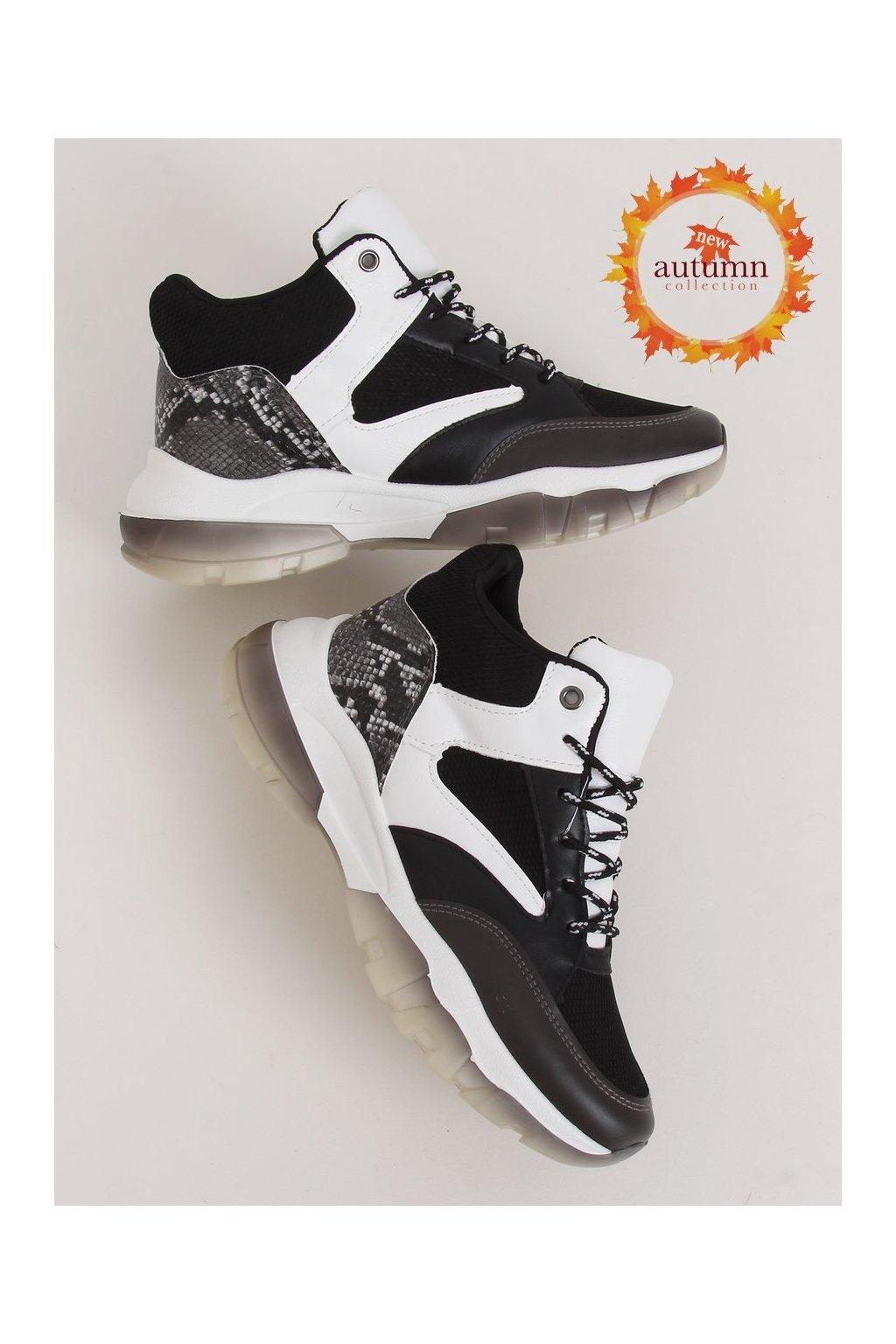 Dámske tenisky čierne 2000-C06