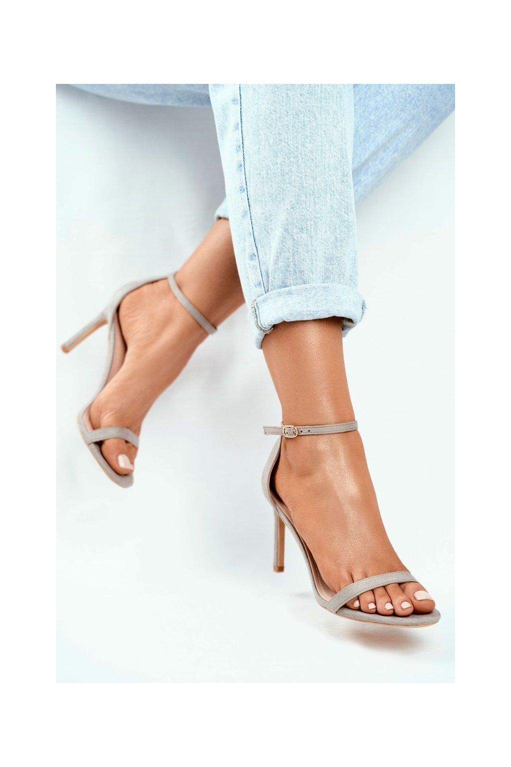 Sivá obuv NJSK NF31 GREY