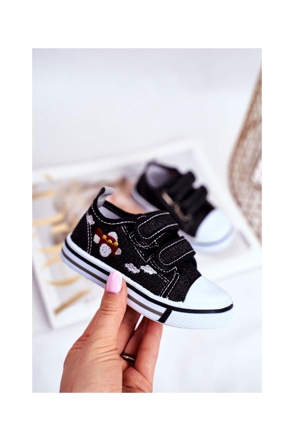 Čierna obuv NJSK A2102 BLK