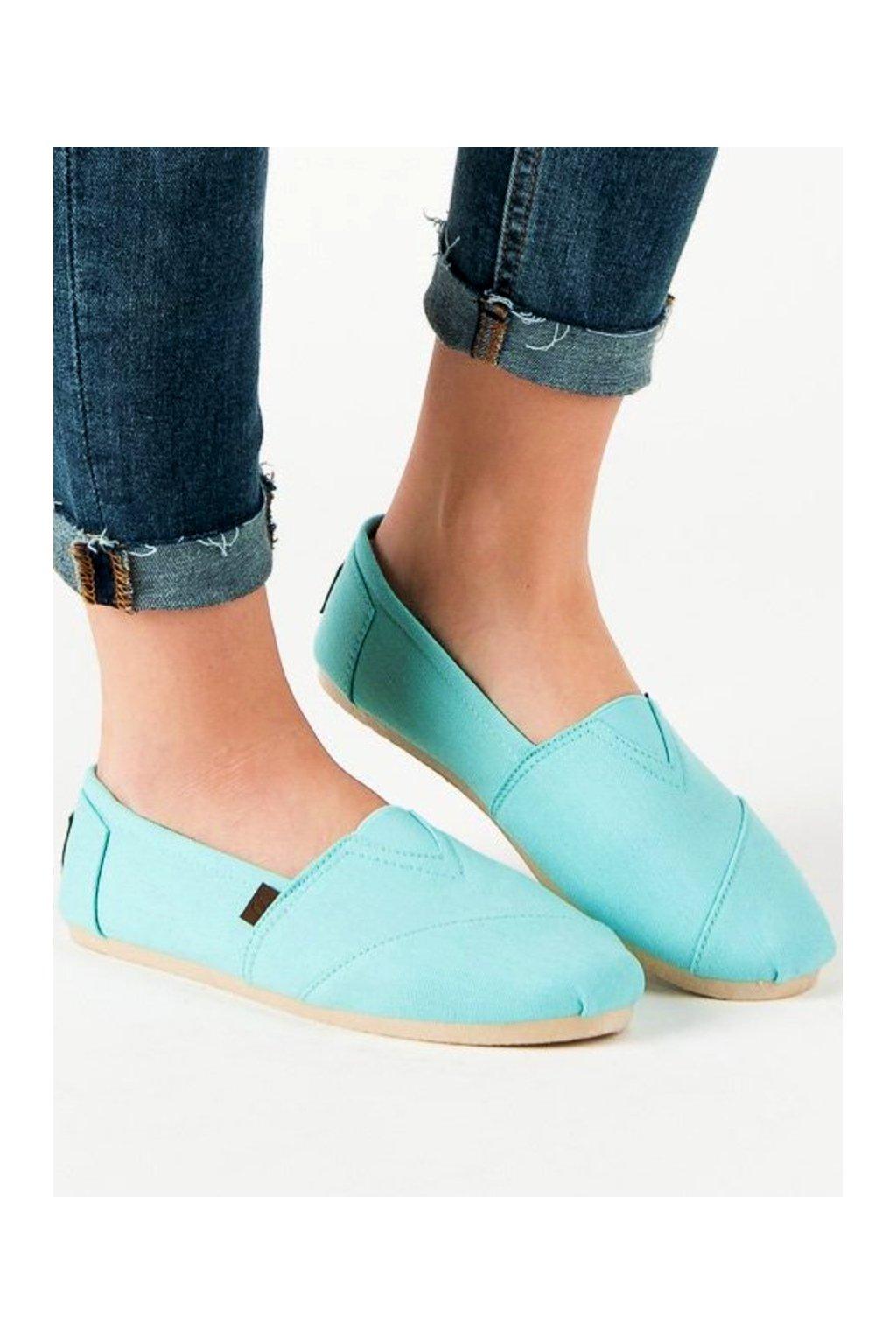 Zelené topánky Shelovet NJSK WI-32-064MI