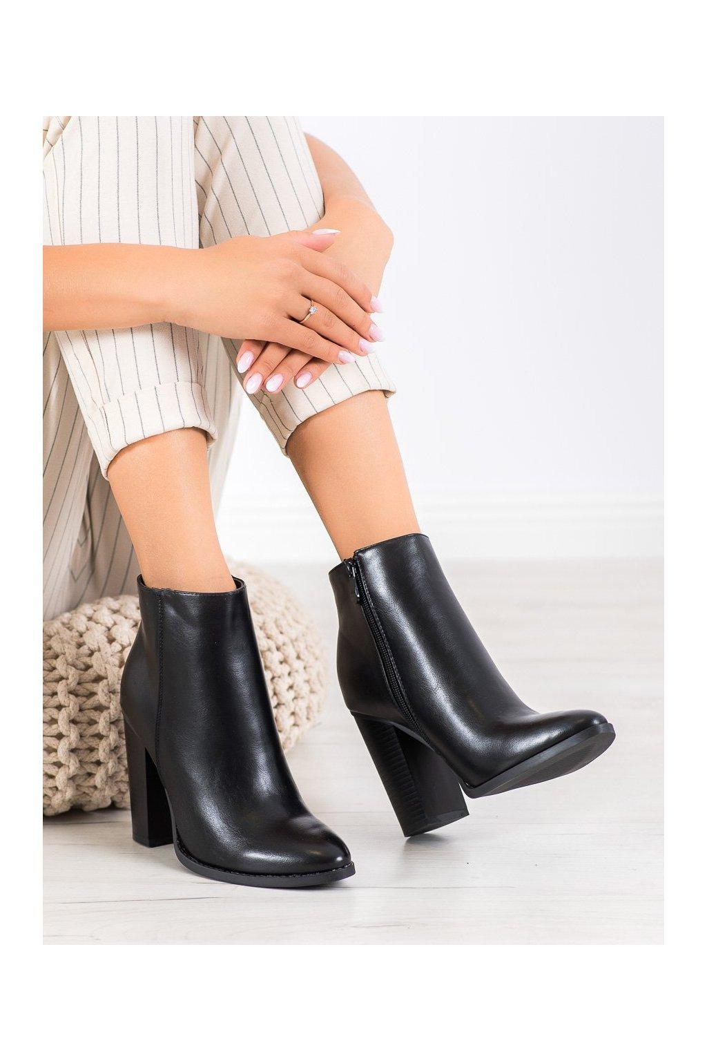 Čierne dámske topánky Seastar kod UK12B