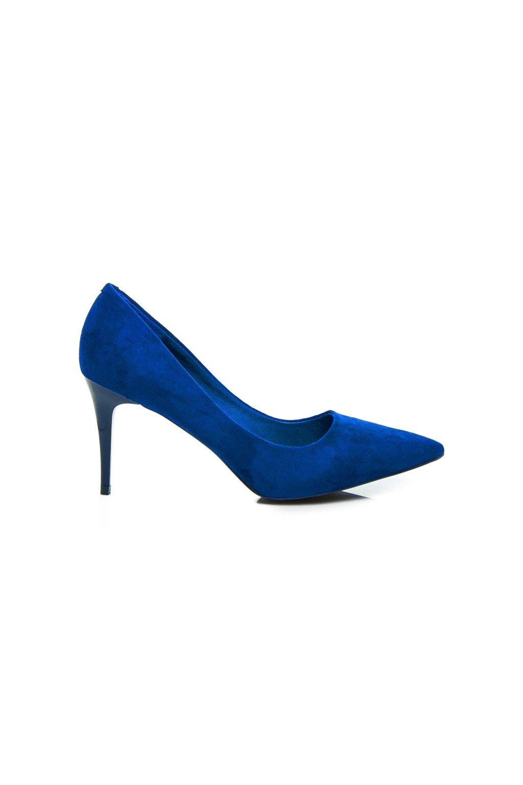 Modré dámske lodičky Comer NJSK EL1619BL