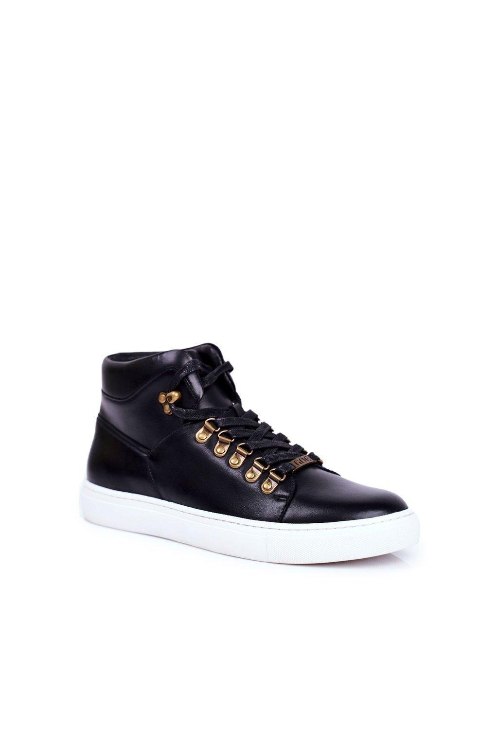 Čierna obuv kód topánok GG1N3009 BLK