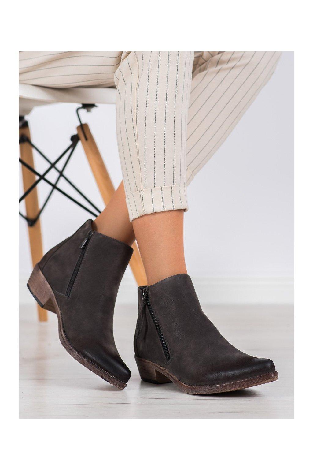 Hnedé dámske topánky Kylie kod K1936305G