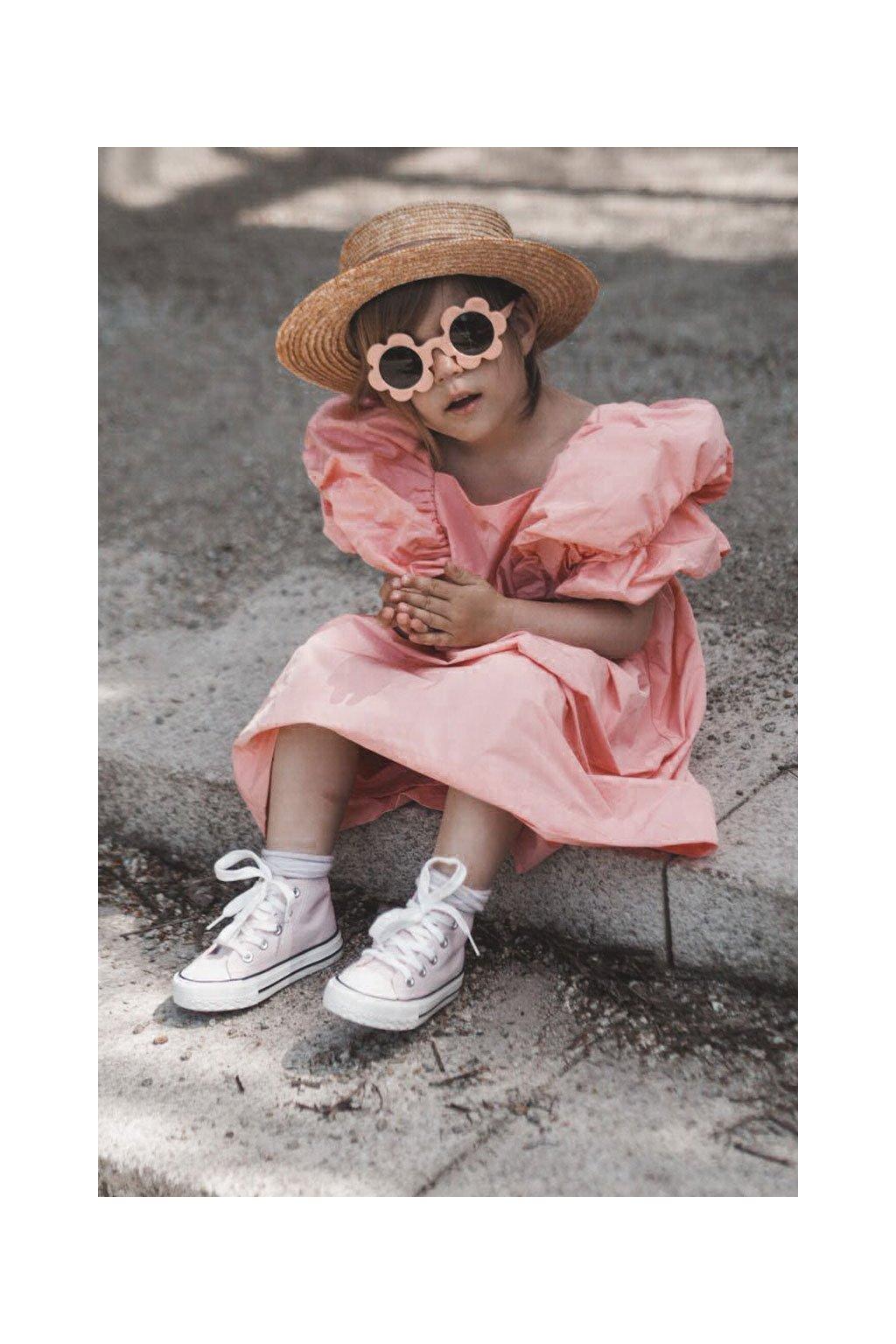 Detské tenisky farba ružová kód obuvi 80090 PINK