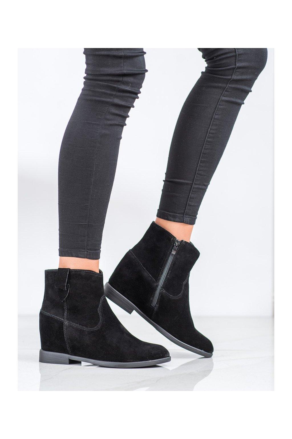 Čierne dámske topánky Filippo kod DBT1087/20B