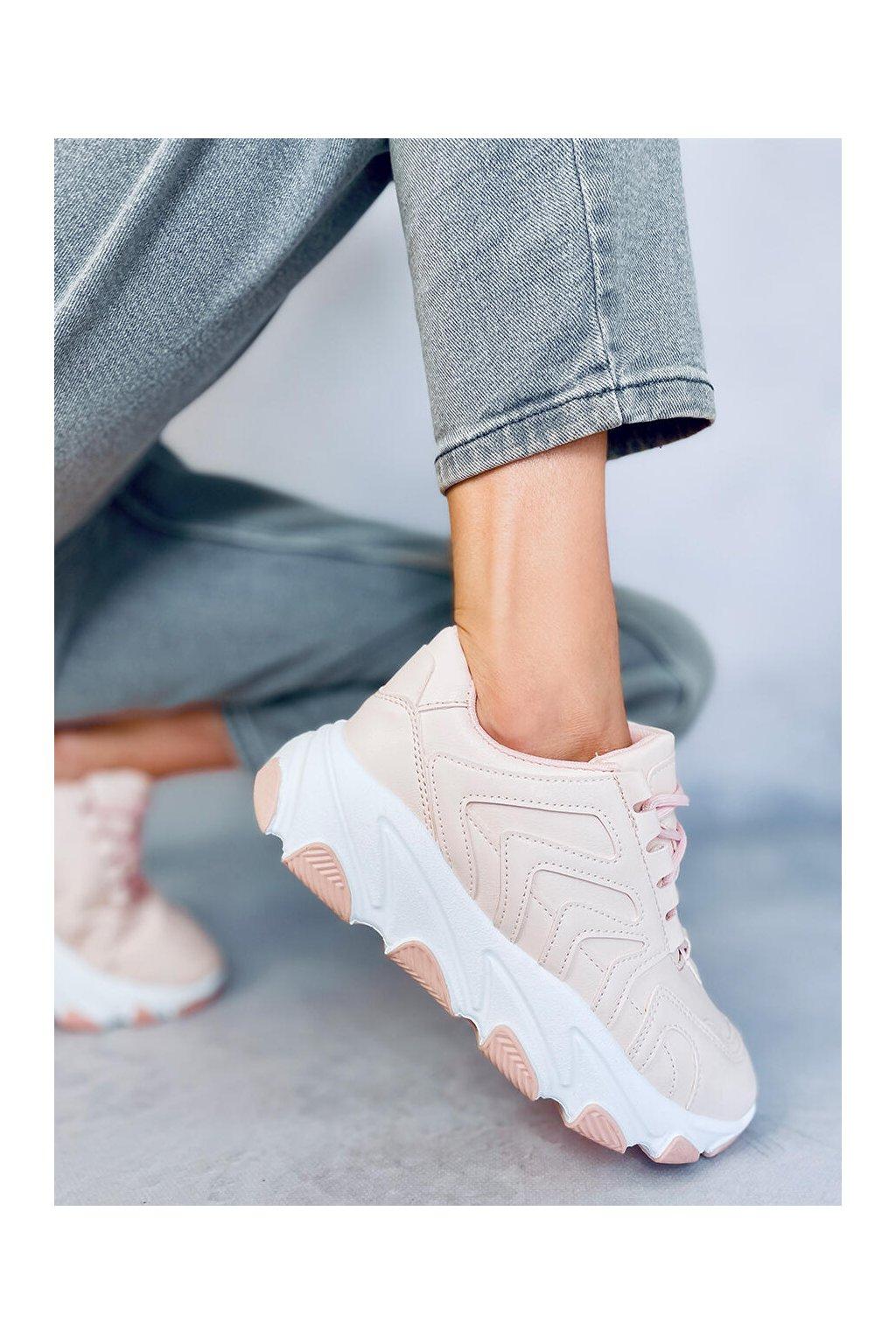 Dámske tenisky ružové YK301