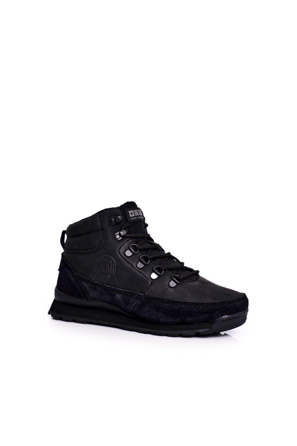 Dámske trekové topánky farba čierna kód obuvi GG274615 BLK