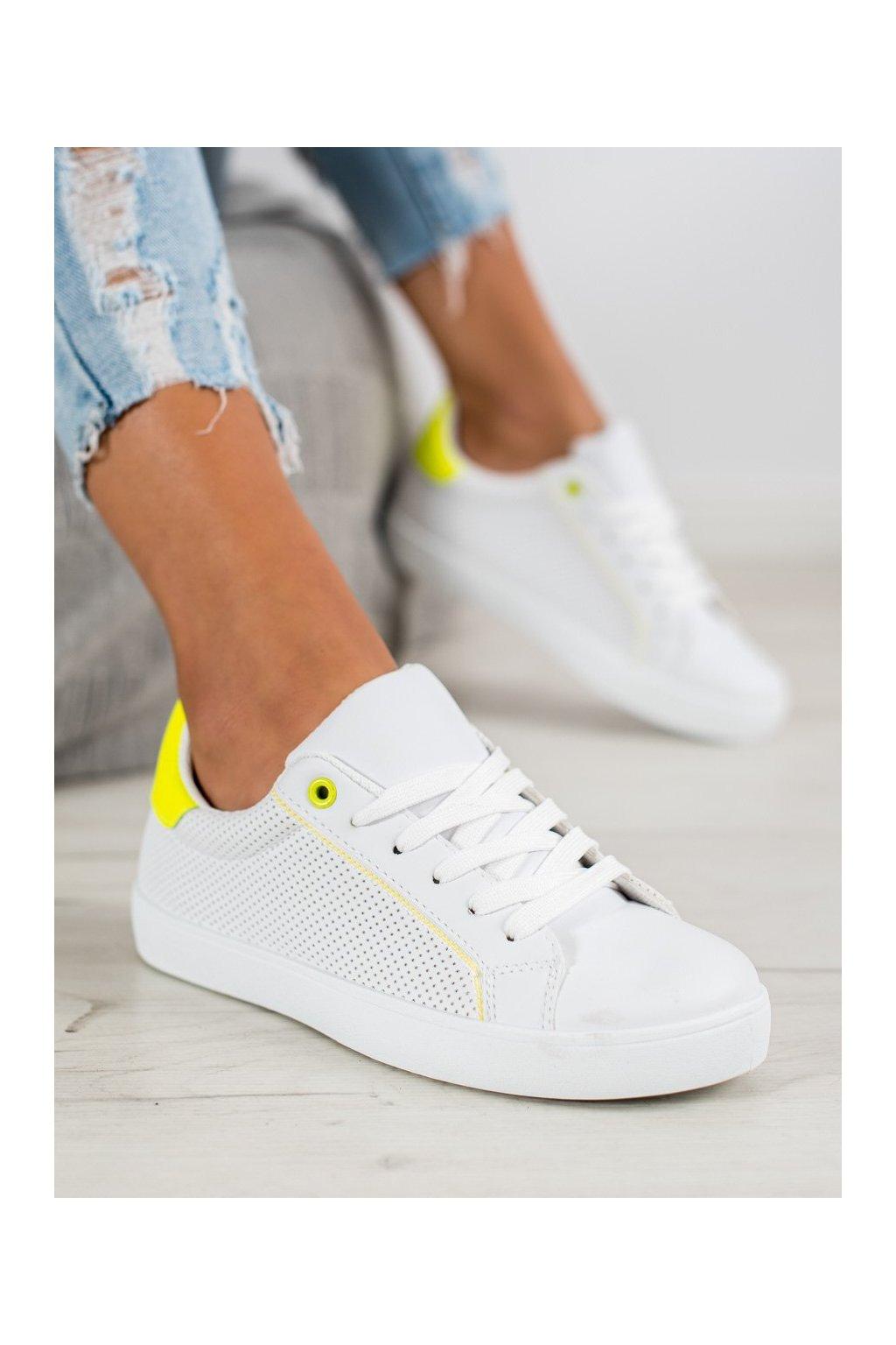 Biele tenisky Shelovet kod BO-502W/Y