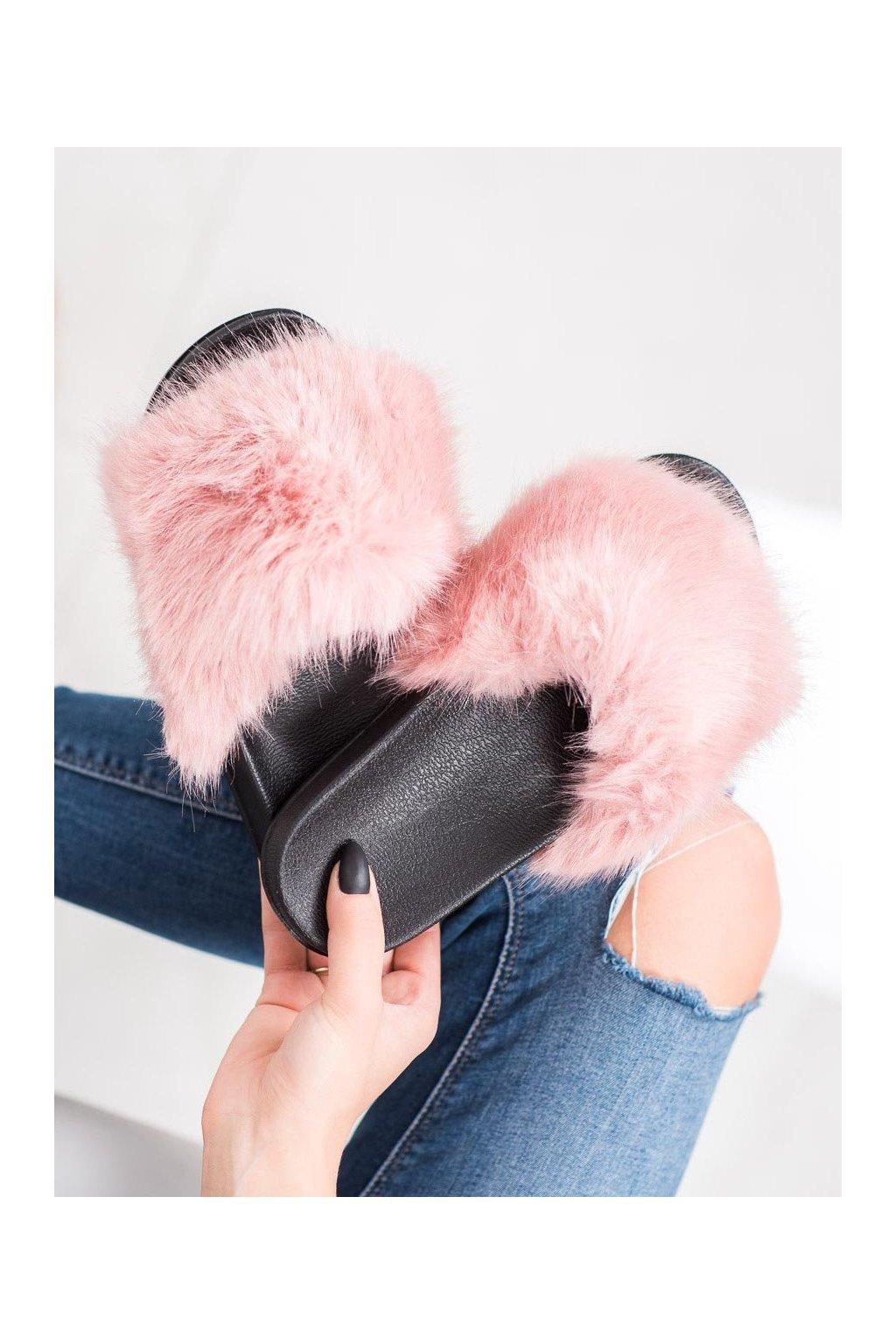 Ružové dámska obuv na doma Shelovet kod CK107P
