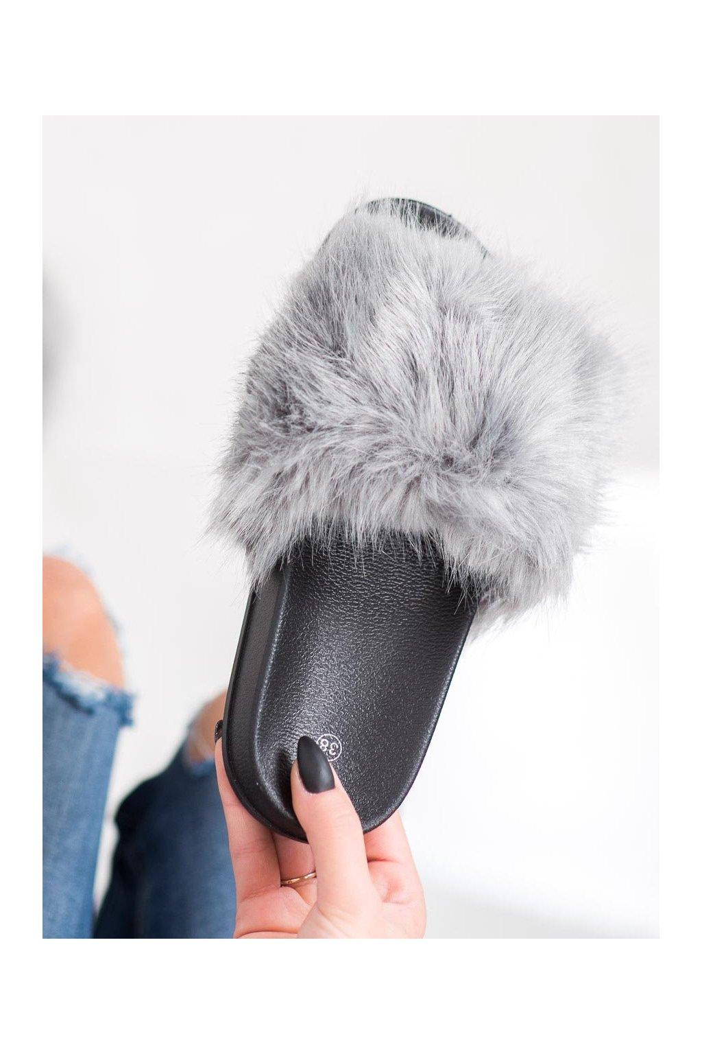 Sivé dámska obuv na doma Shelovet kod CK107G