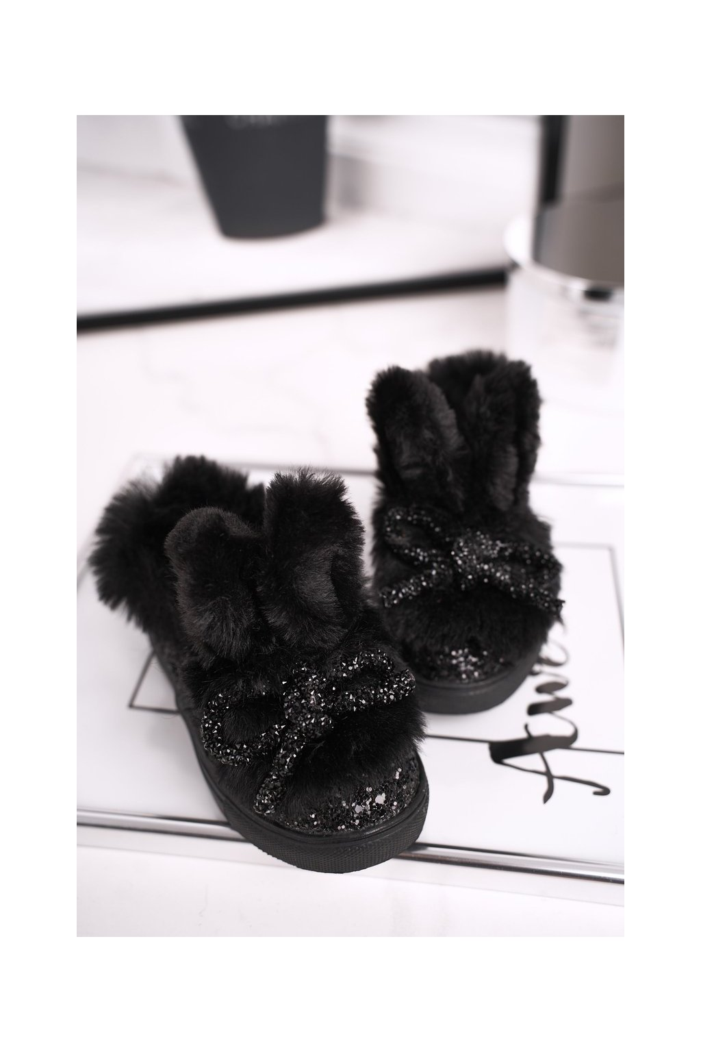 Detské tenisky farba čierna kód obuvi 1576-A BLK