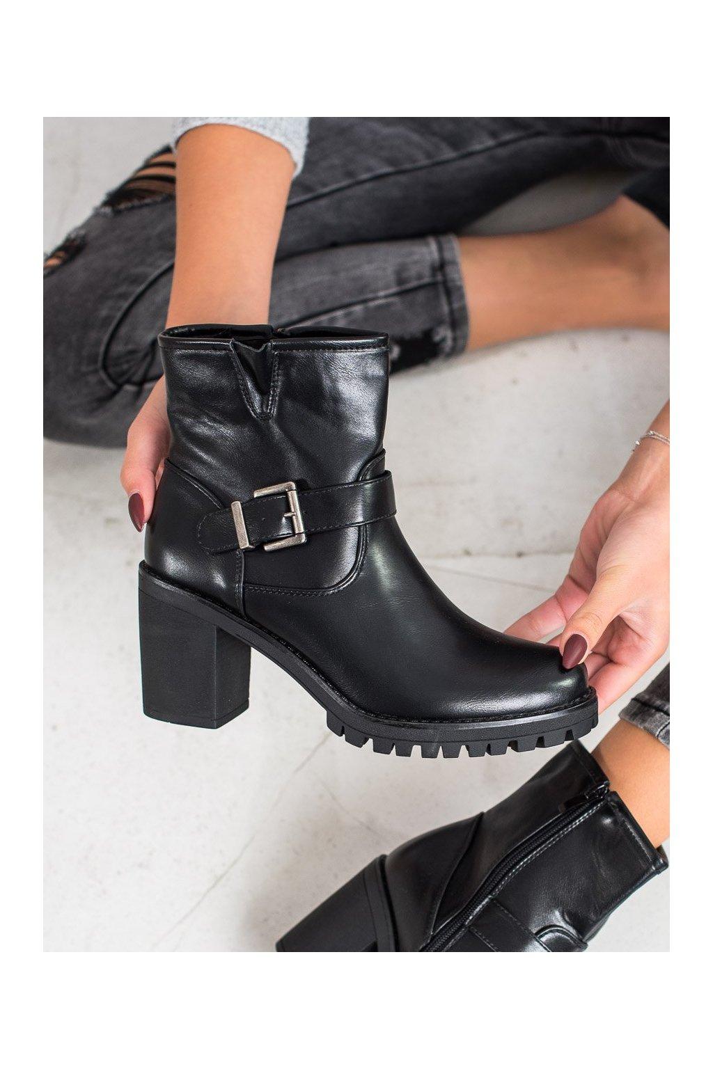 Čierne dámske topánky Marquiz kod E9314B