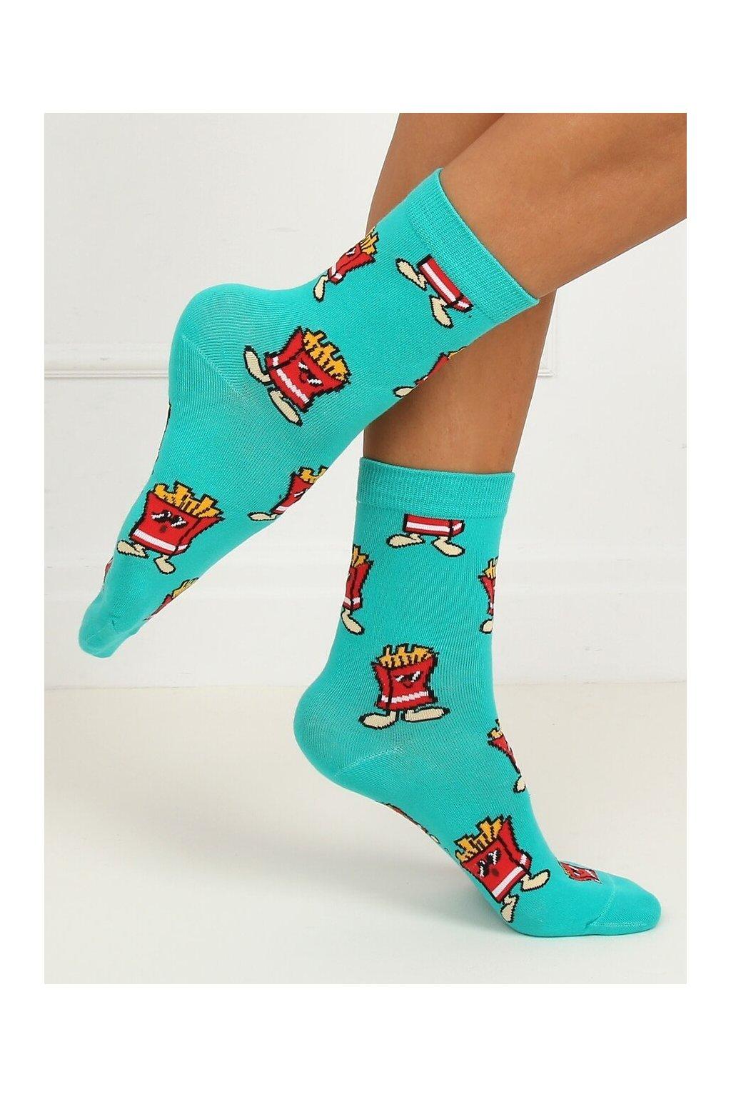 Damske ponožky modré SK-NZC6575