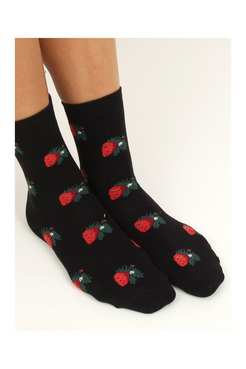 Damske ponožky čierne SK-NZC6573