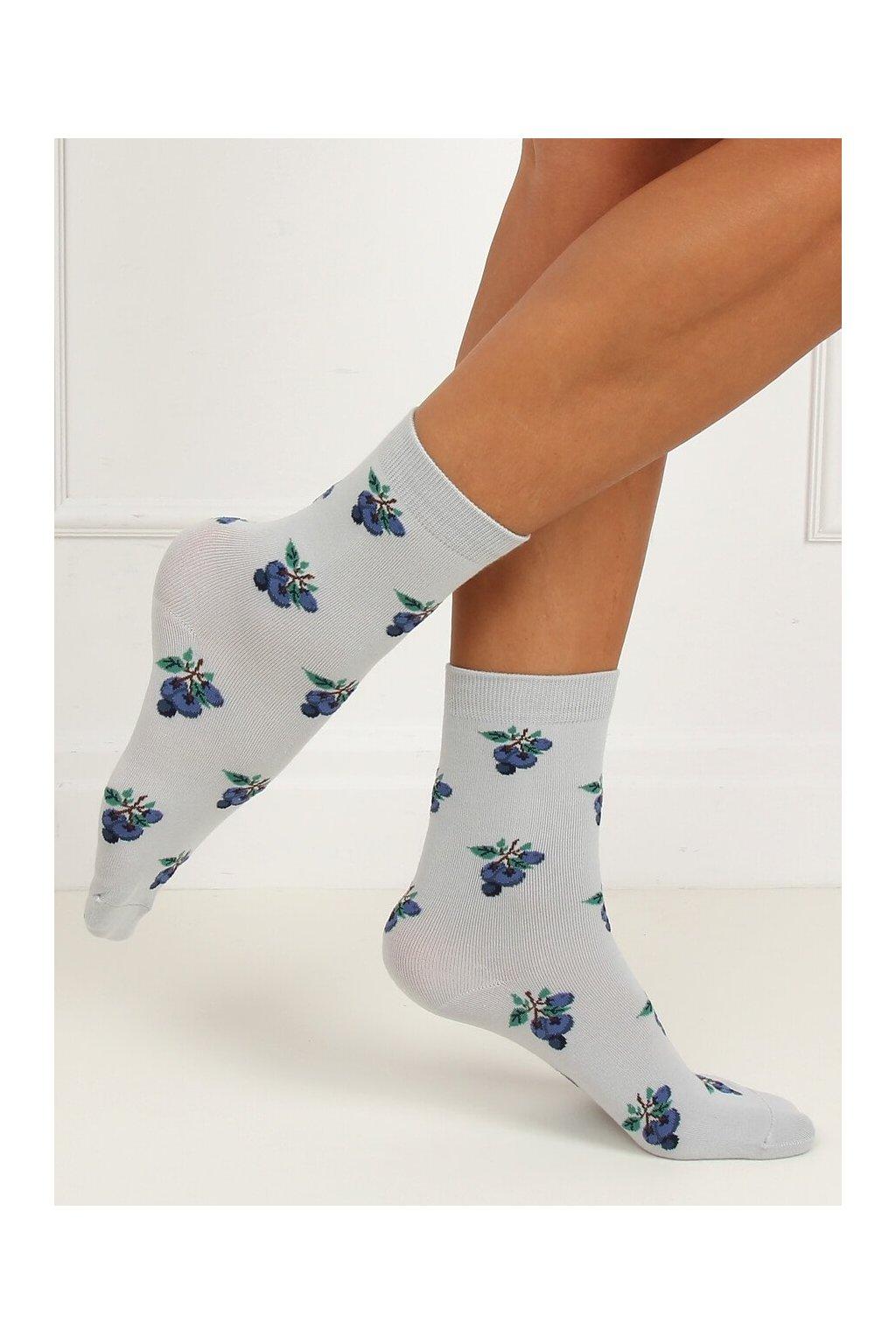 Damske ponožky sivé SK-NZC6573