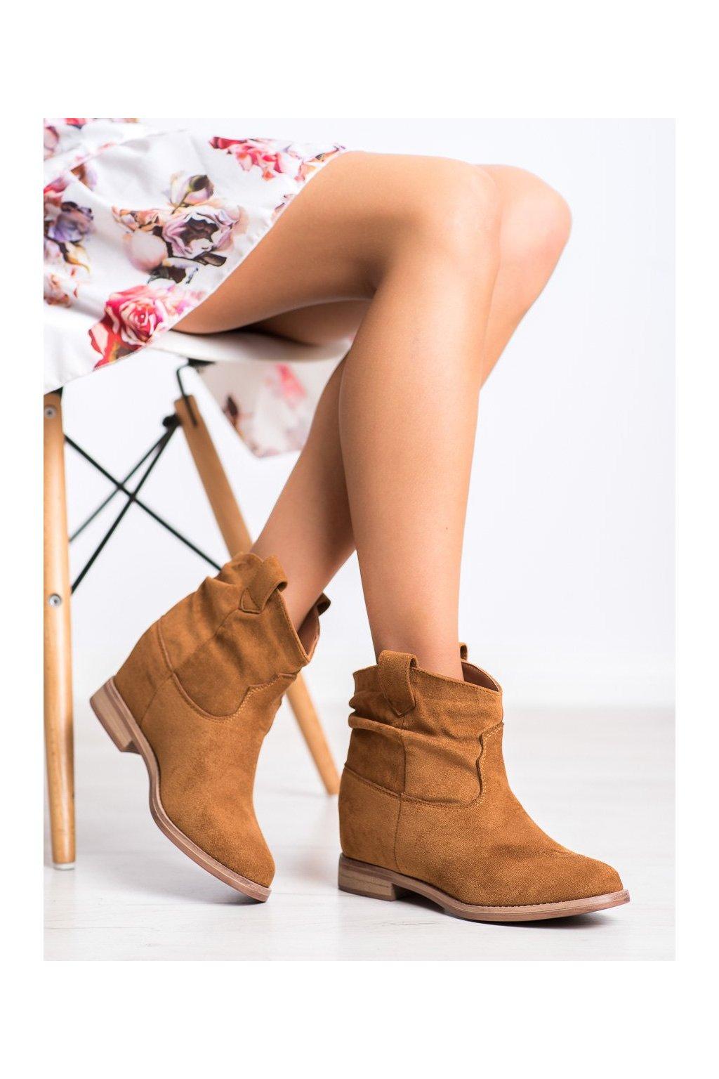 Hnedé dámske topánky Marquiz kod 1516C