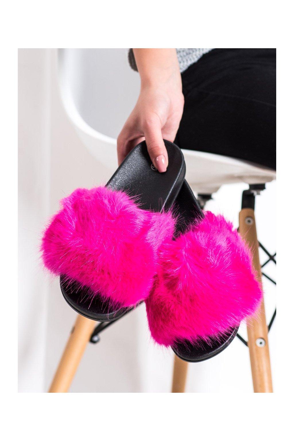 Ružové dámska obuv na doma Shelovet kod CK107F