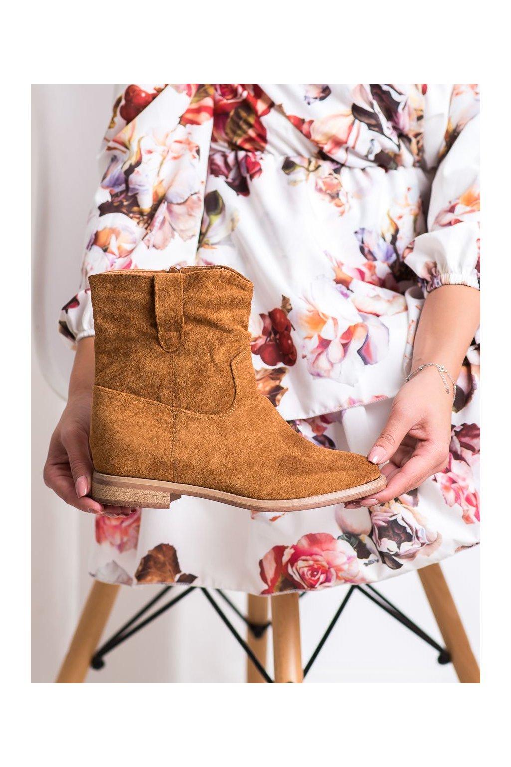 Hnedé dámske topánky Seastar kod NC980C