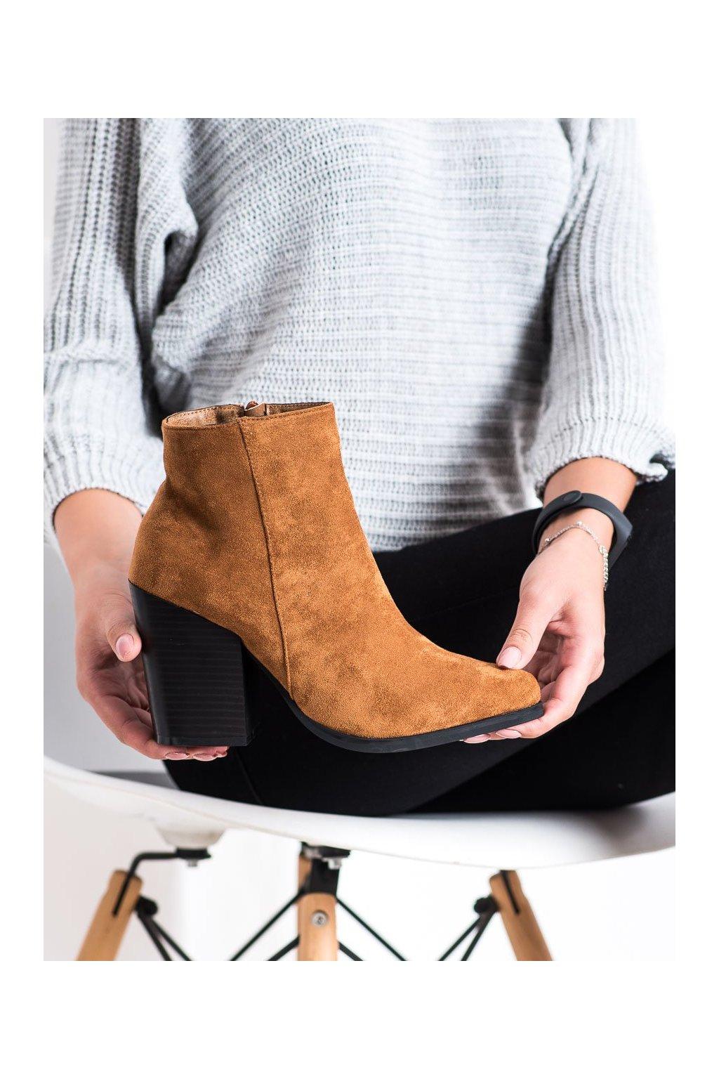 Hnedé dámske topánky Marquiz kod TX-3207C