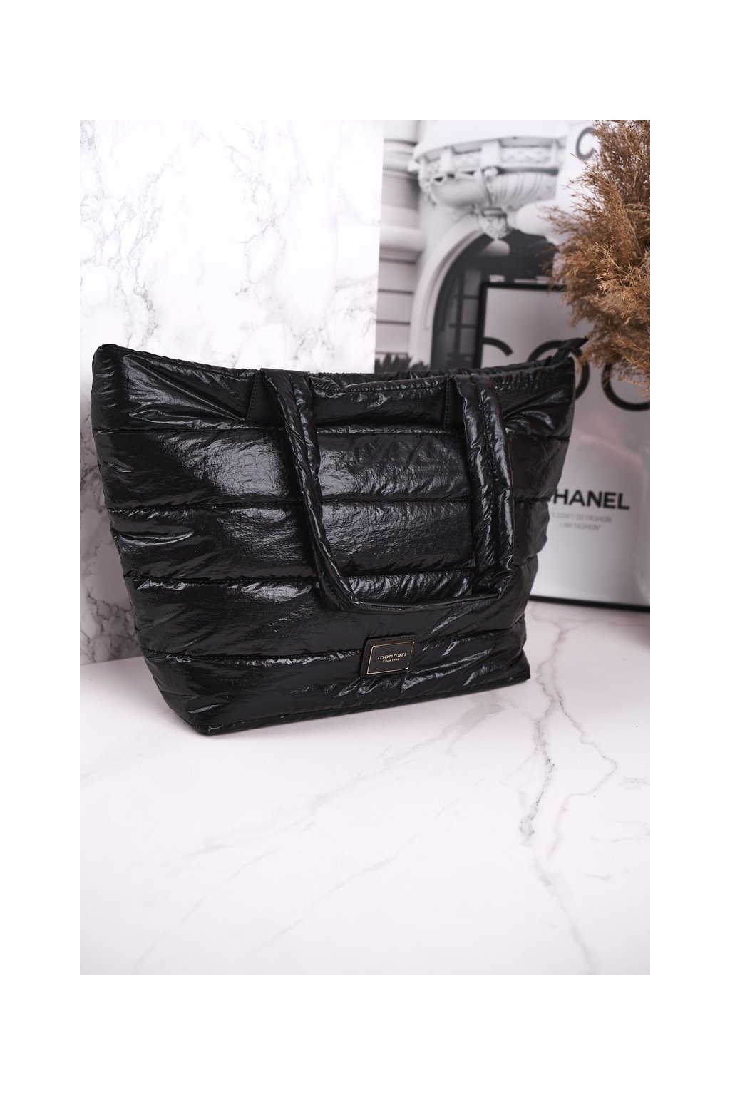 Dámska kabelka čierna kód kabelky BAG5720-020BLK