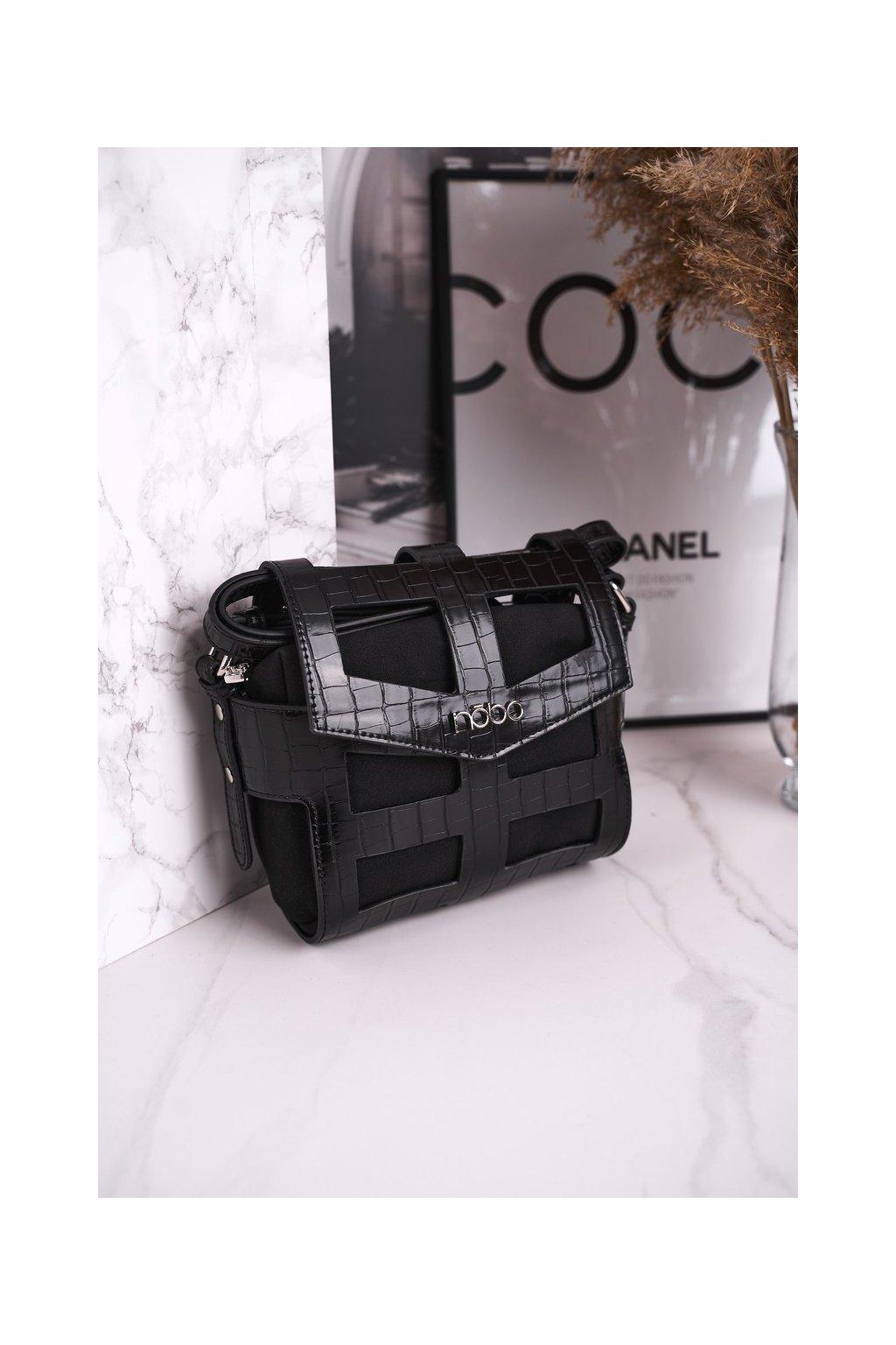 Dámska kabelka čierna kód kabelky NBAG-J4107-C020 BLK