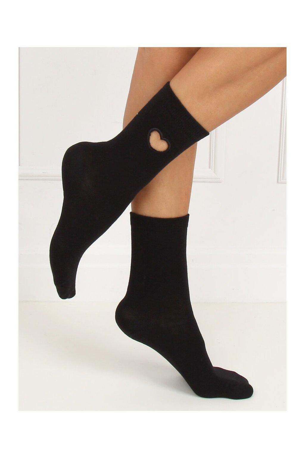 Damske ponožky čierne SK-NPX95
