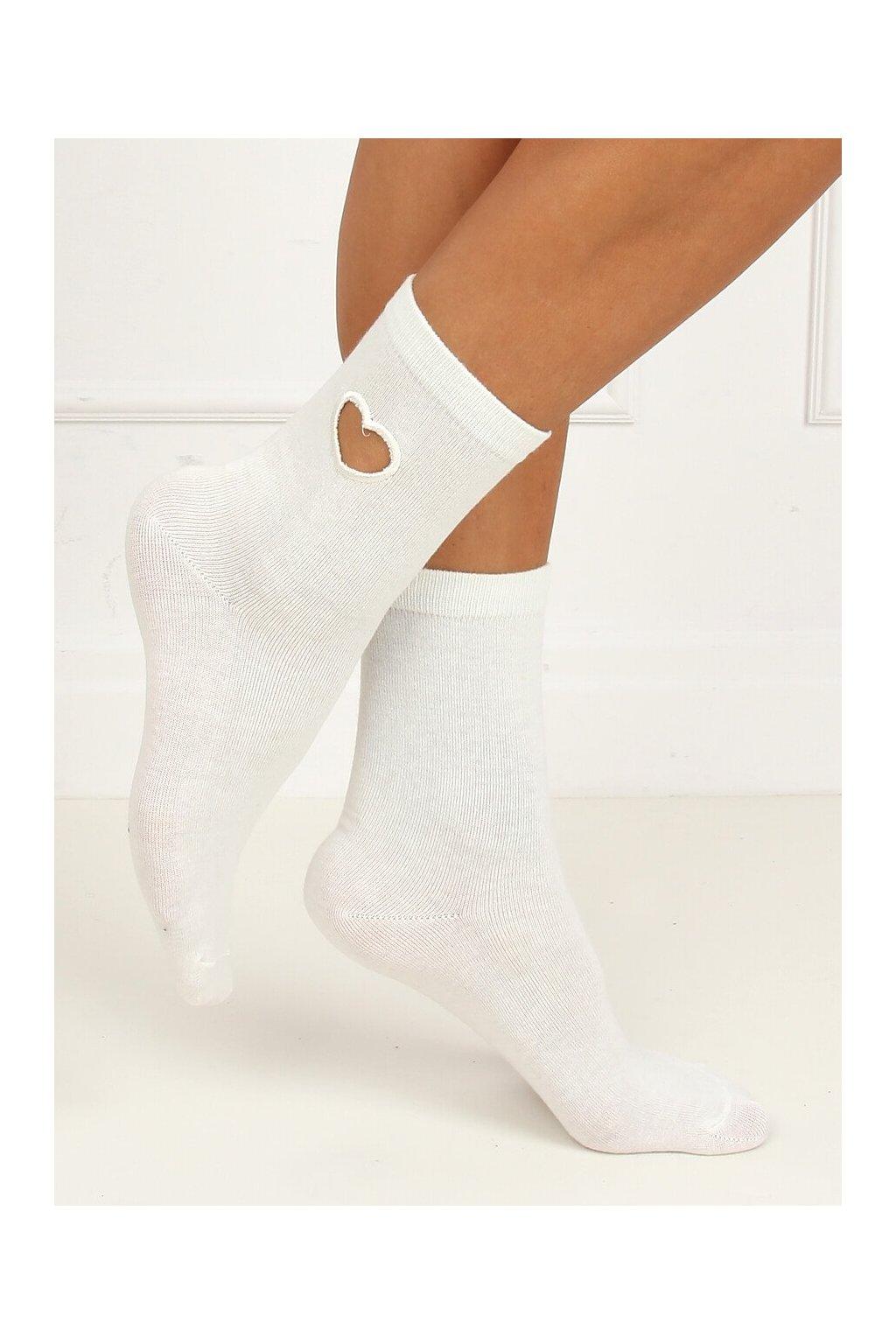 Damske ponožky biele SK-NPX95