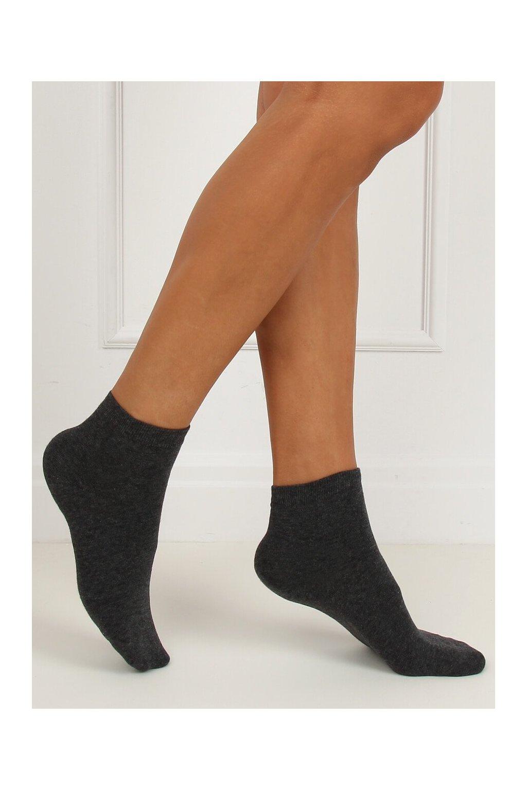 Damske ponožky sivé SK-NZ088